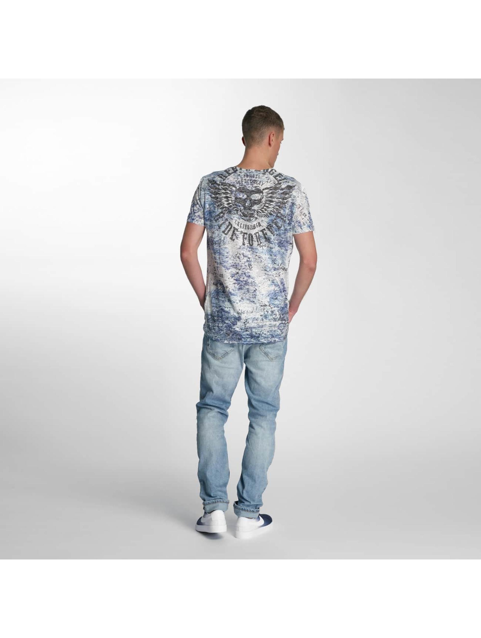 Cipo & Baxx T-skjorter Ride Forever blå