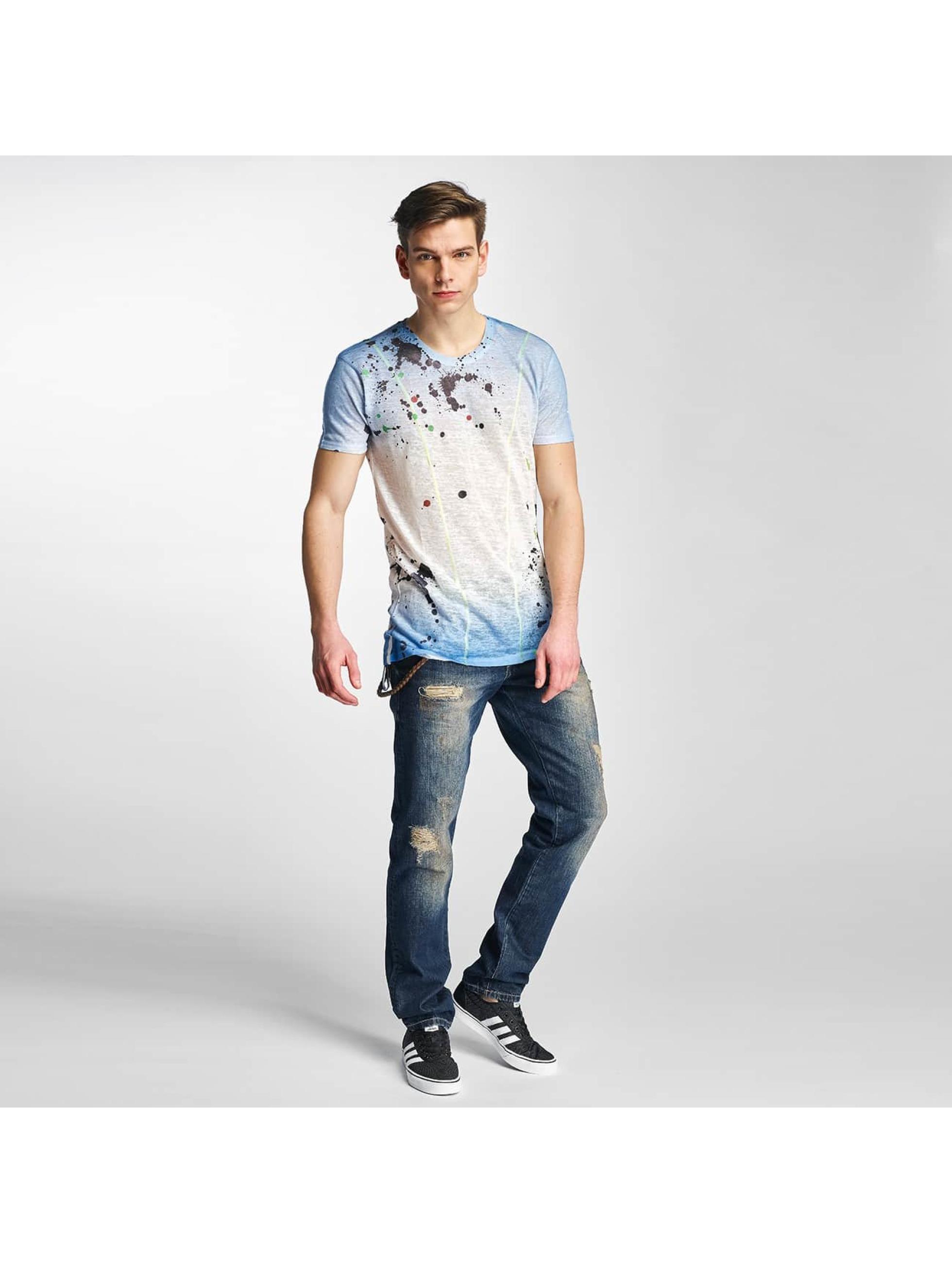 Cipo & Baxx T-skjorter Paint indigo