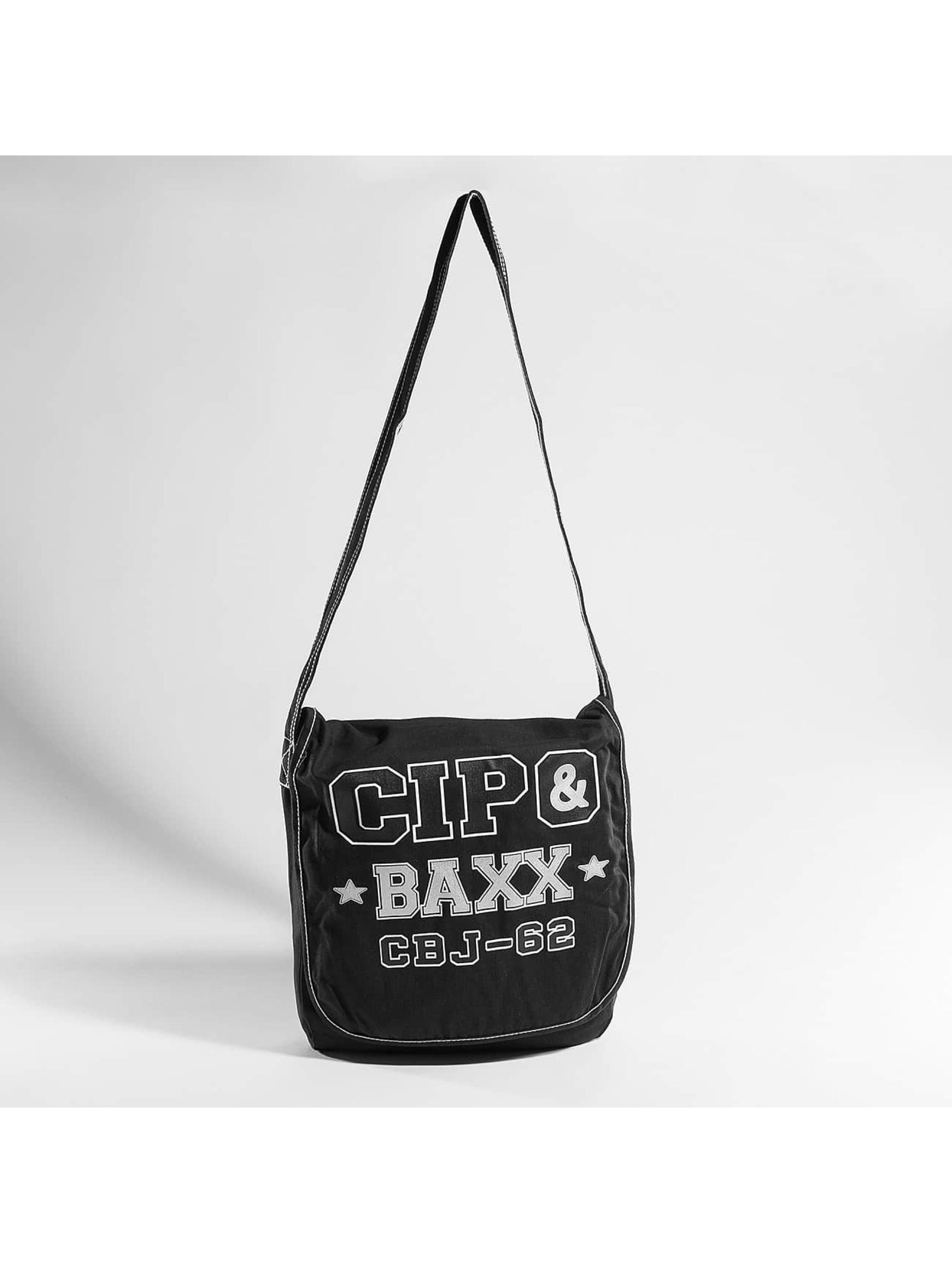 Cipo & Baxx Tašky Denim čern