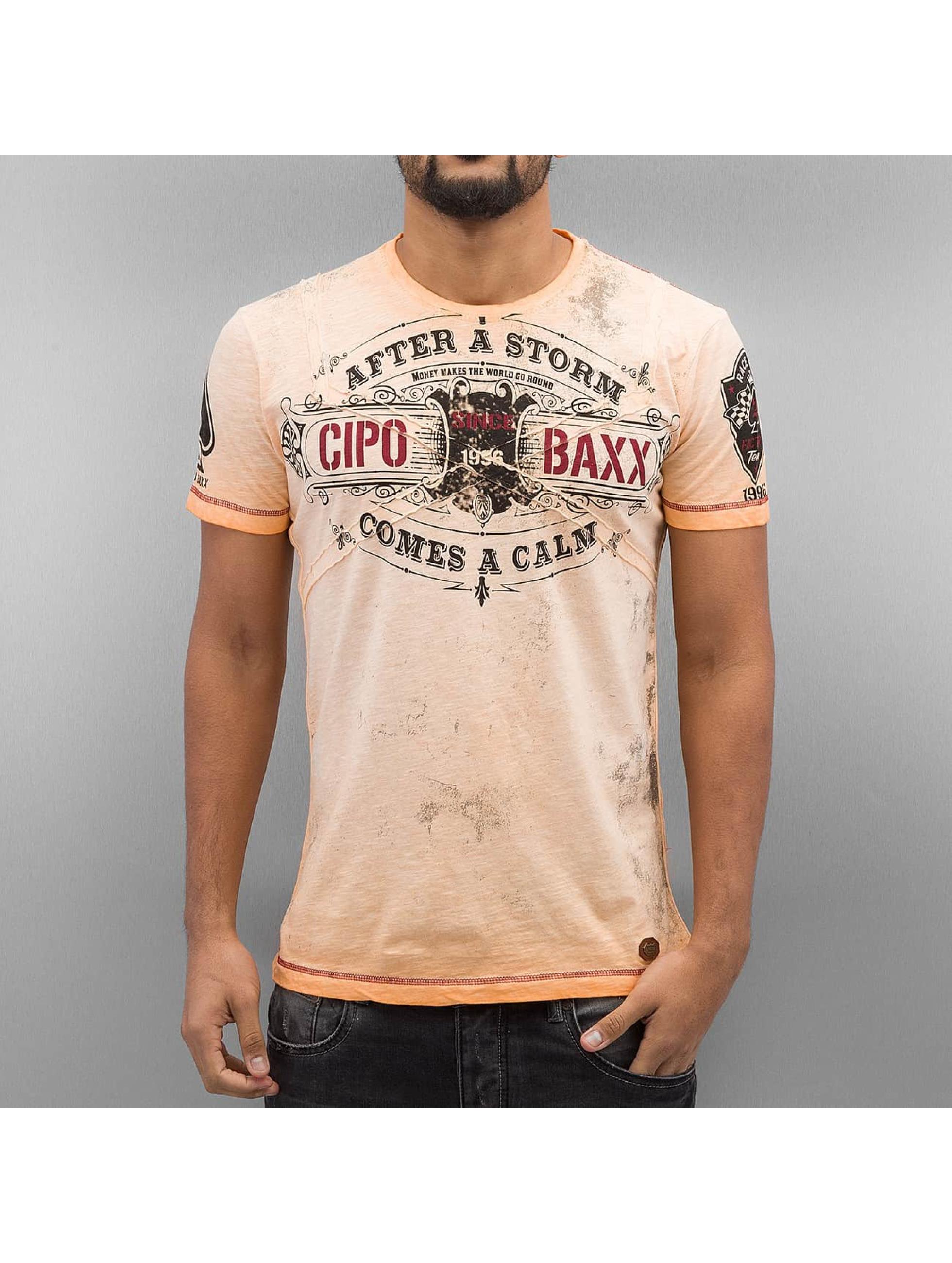 Cipo & Baxx Tričká After A Storm oranžová