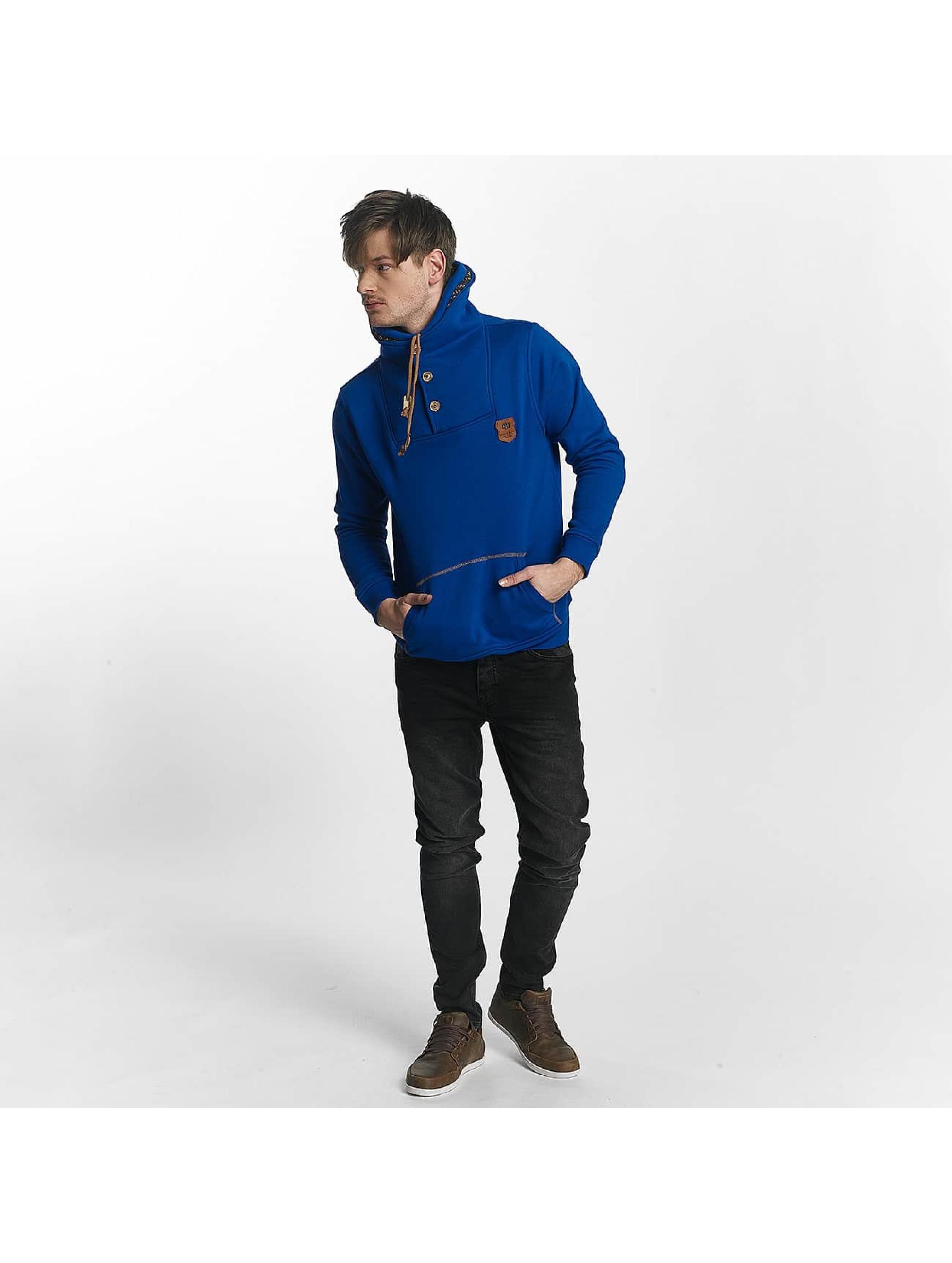 Cipo & Baxx trui Double Collar blauw