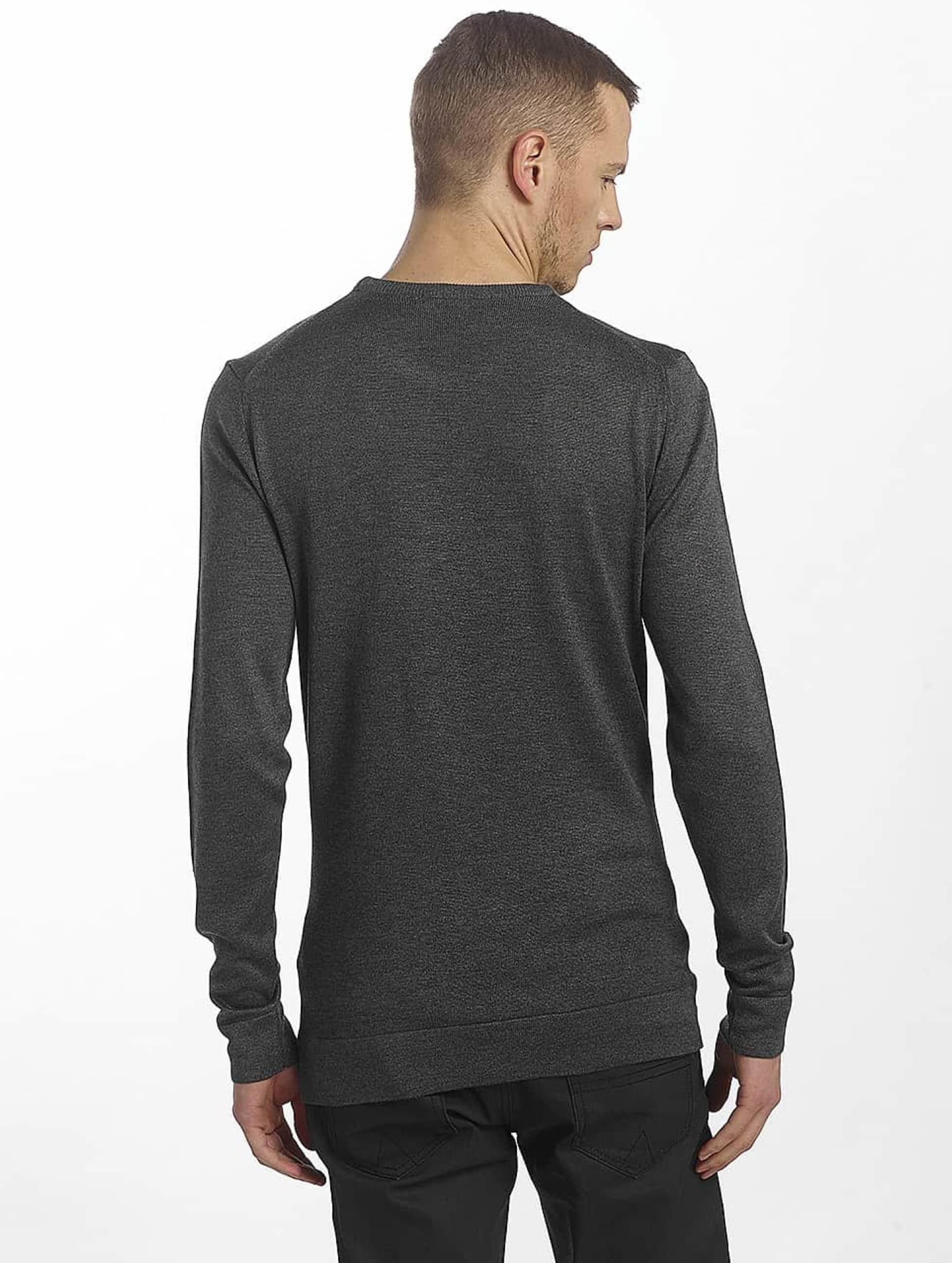 Cipo & Baxx trui Basic grijs