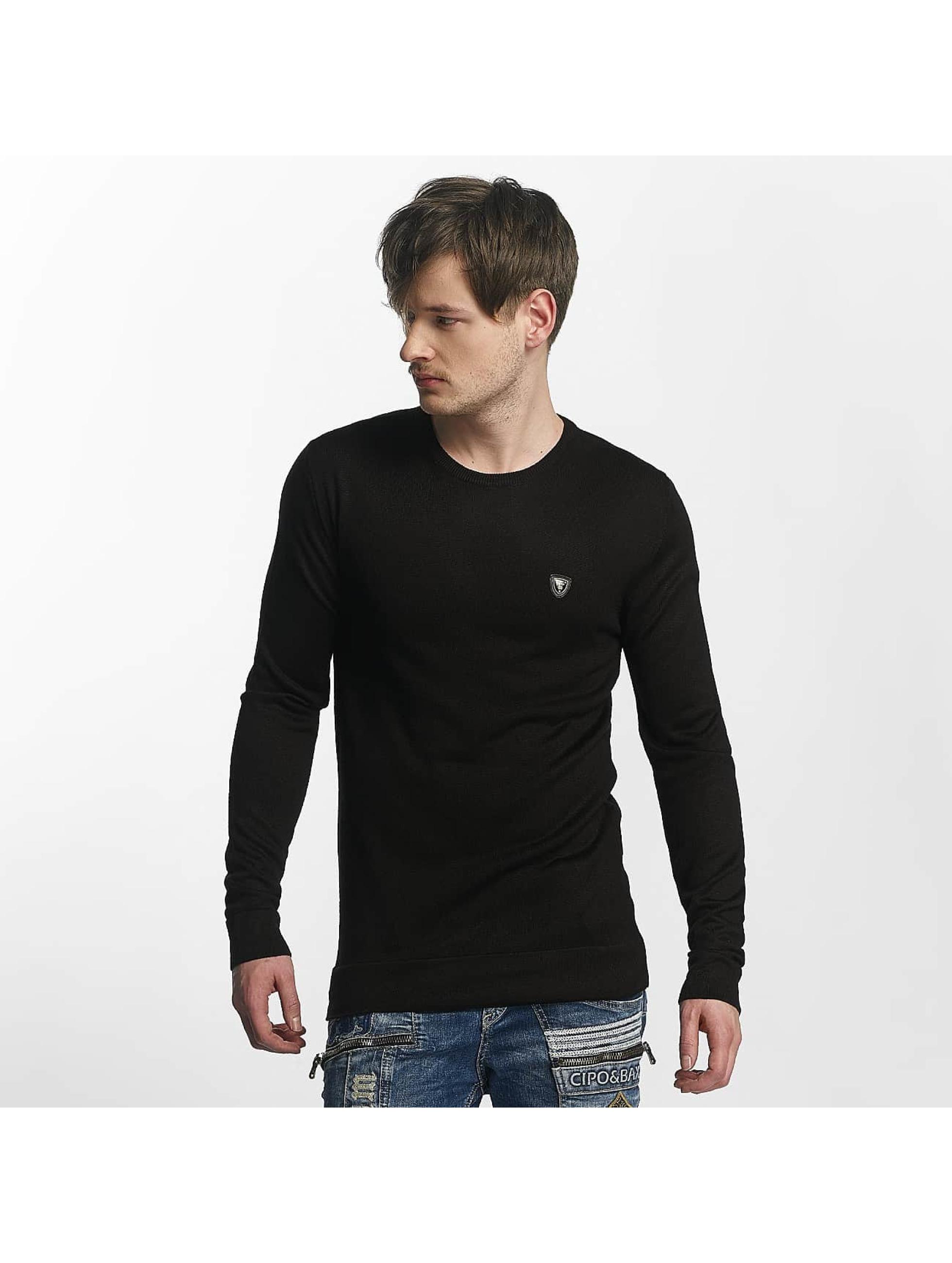 Cipo & Baxx trui Basic zwart