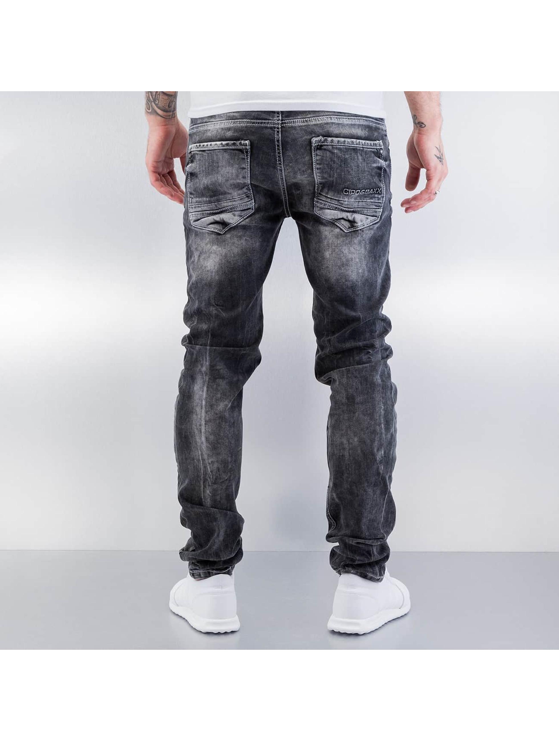 Cipo & Baxx Tynne bukser Destroyed grå