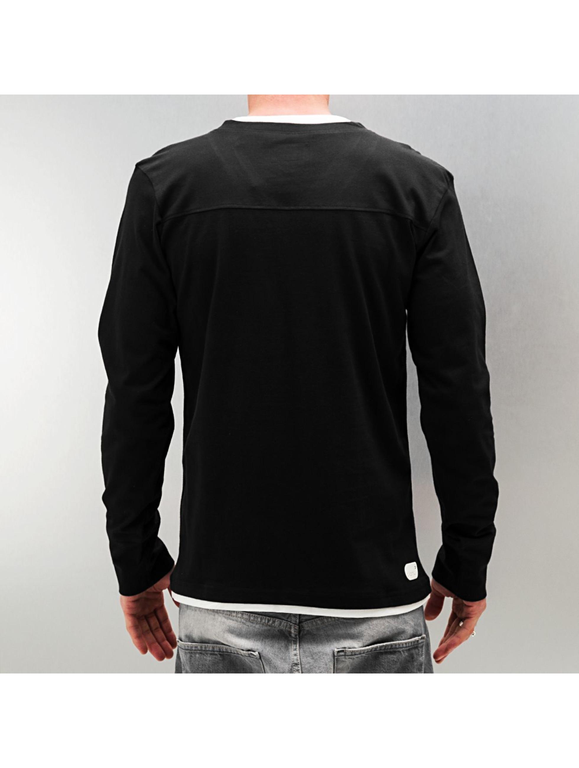 Clang T-Shirt manches longues Jaron noir