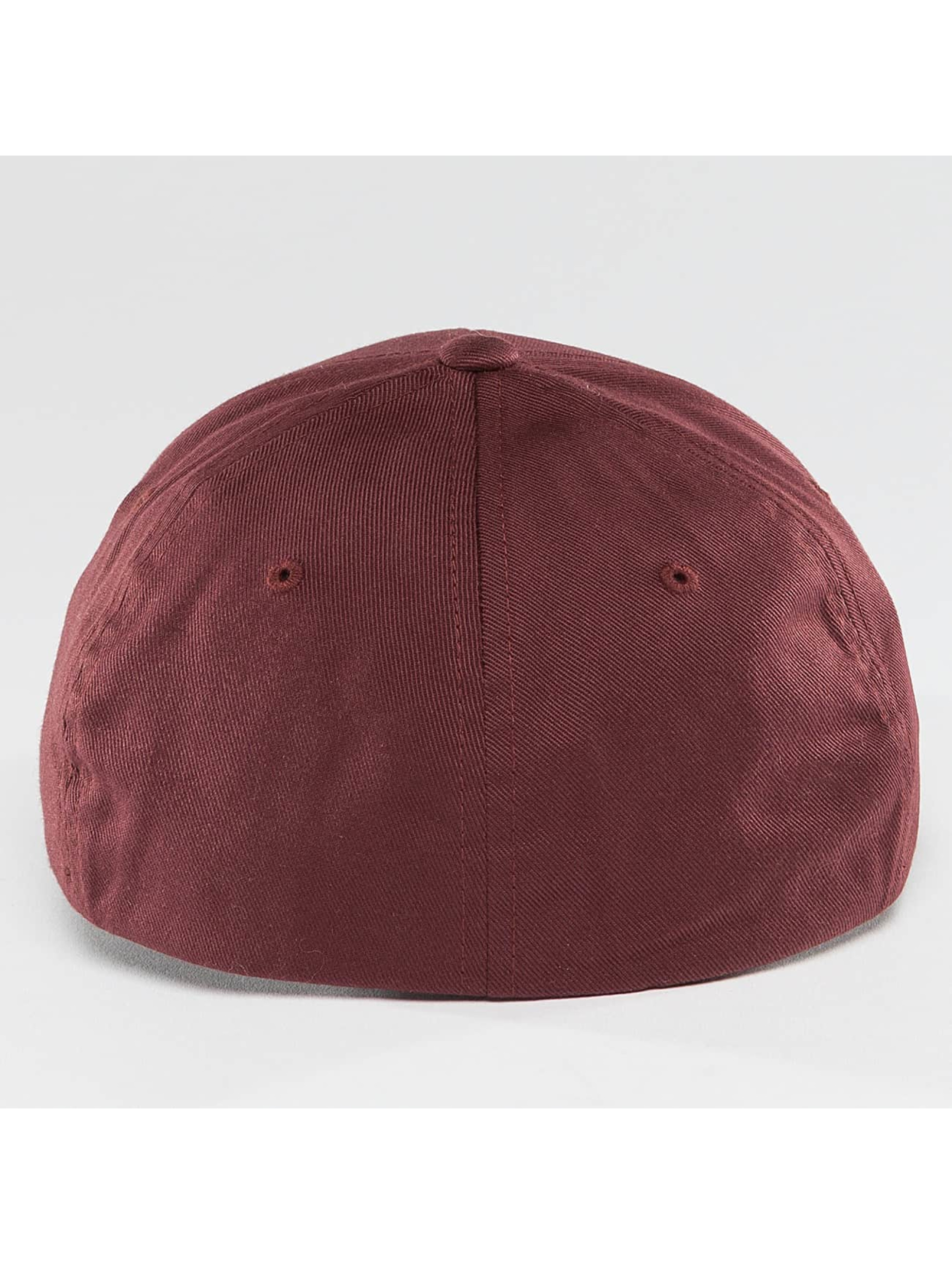 Cleptomanicx Flexfitted Cap Flex rot