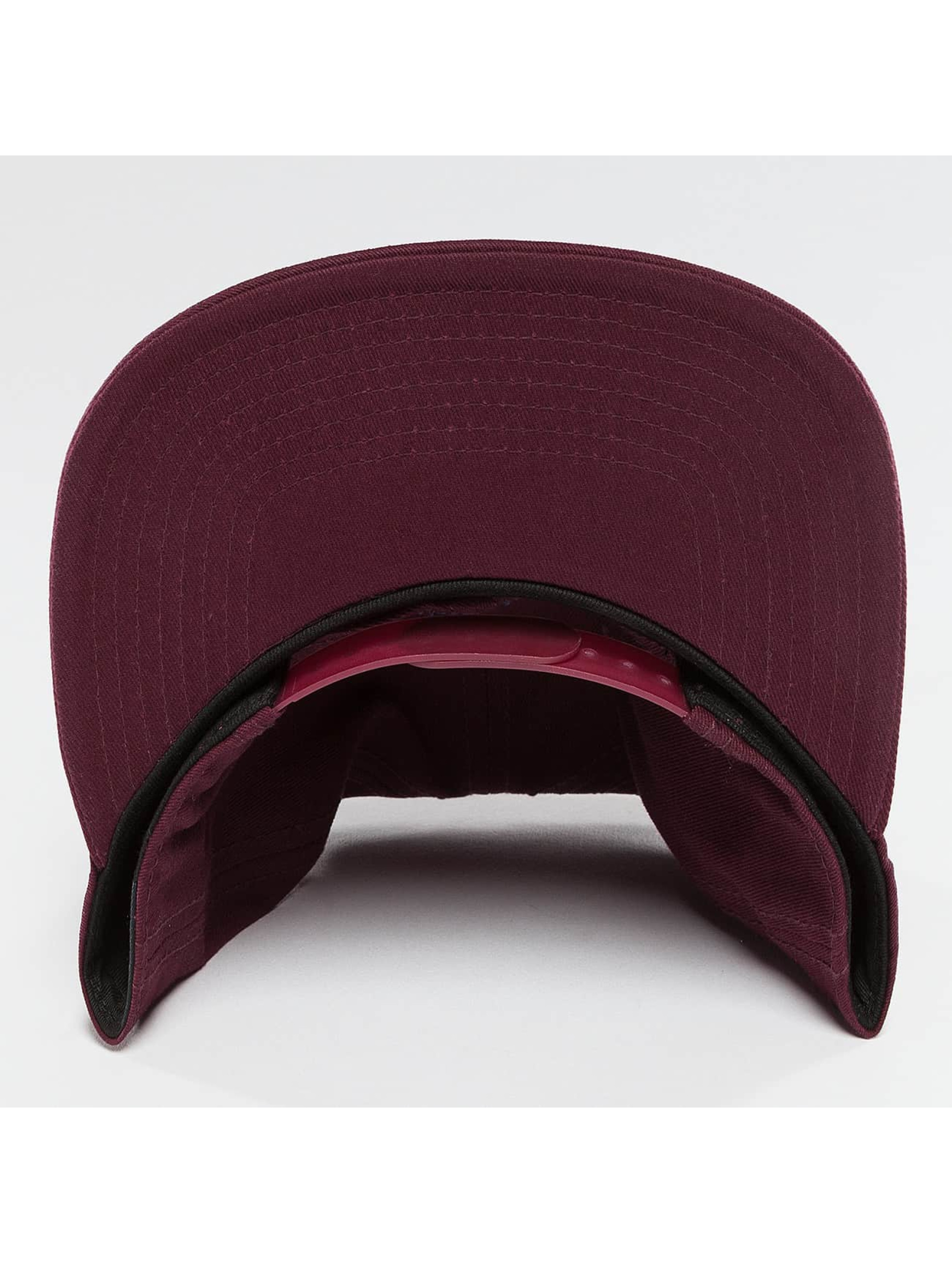 Cleptomanicx Snapback Cap Mini Möwe rot