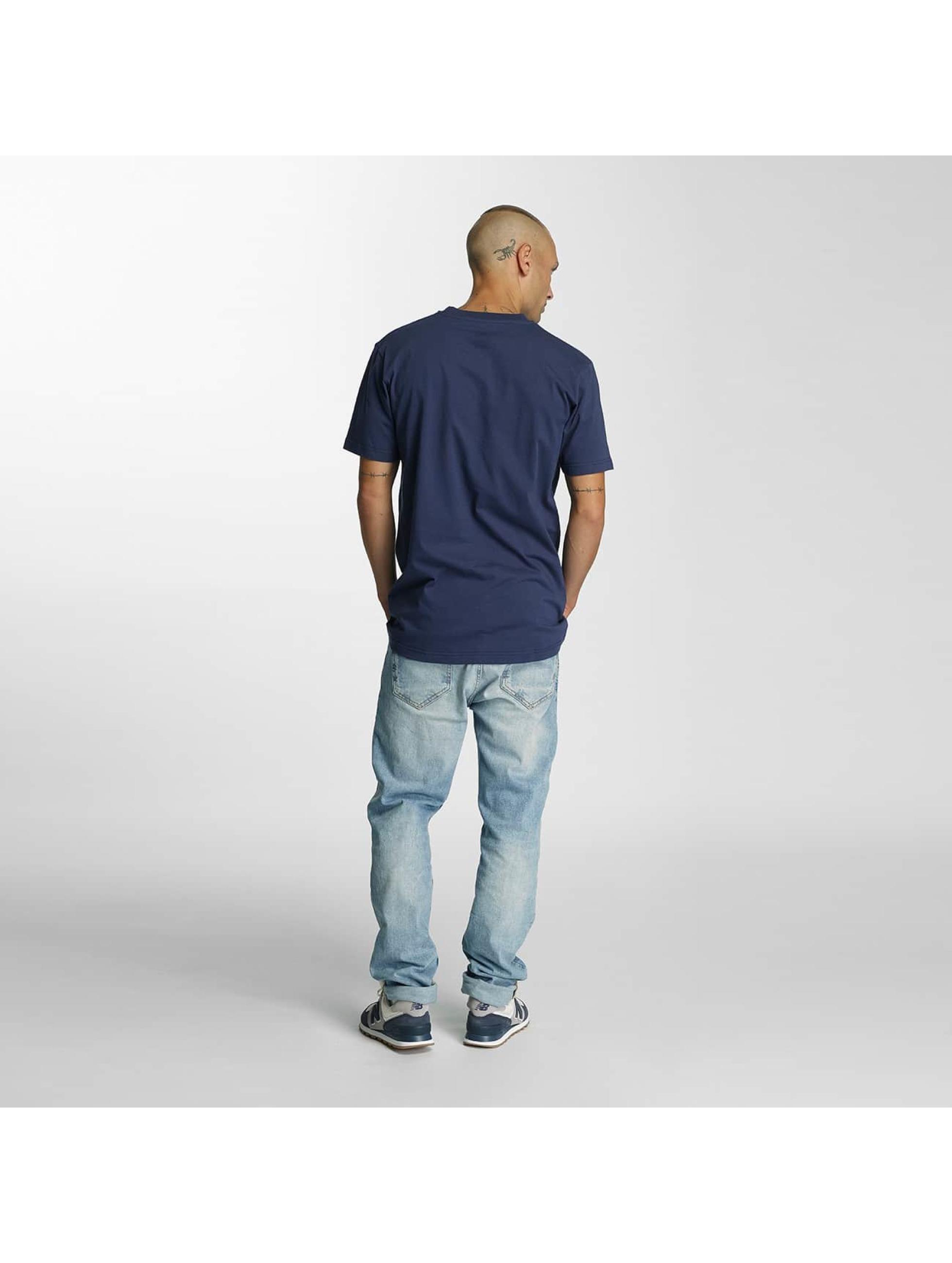 Cleptomanicx T-Shirt Basic blau