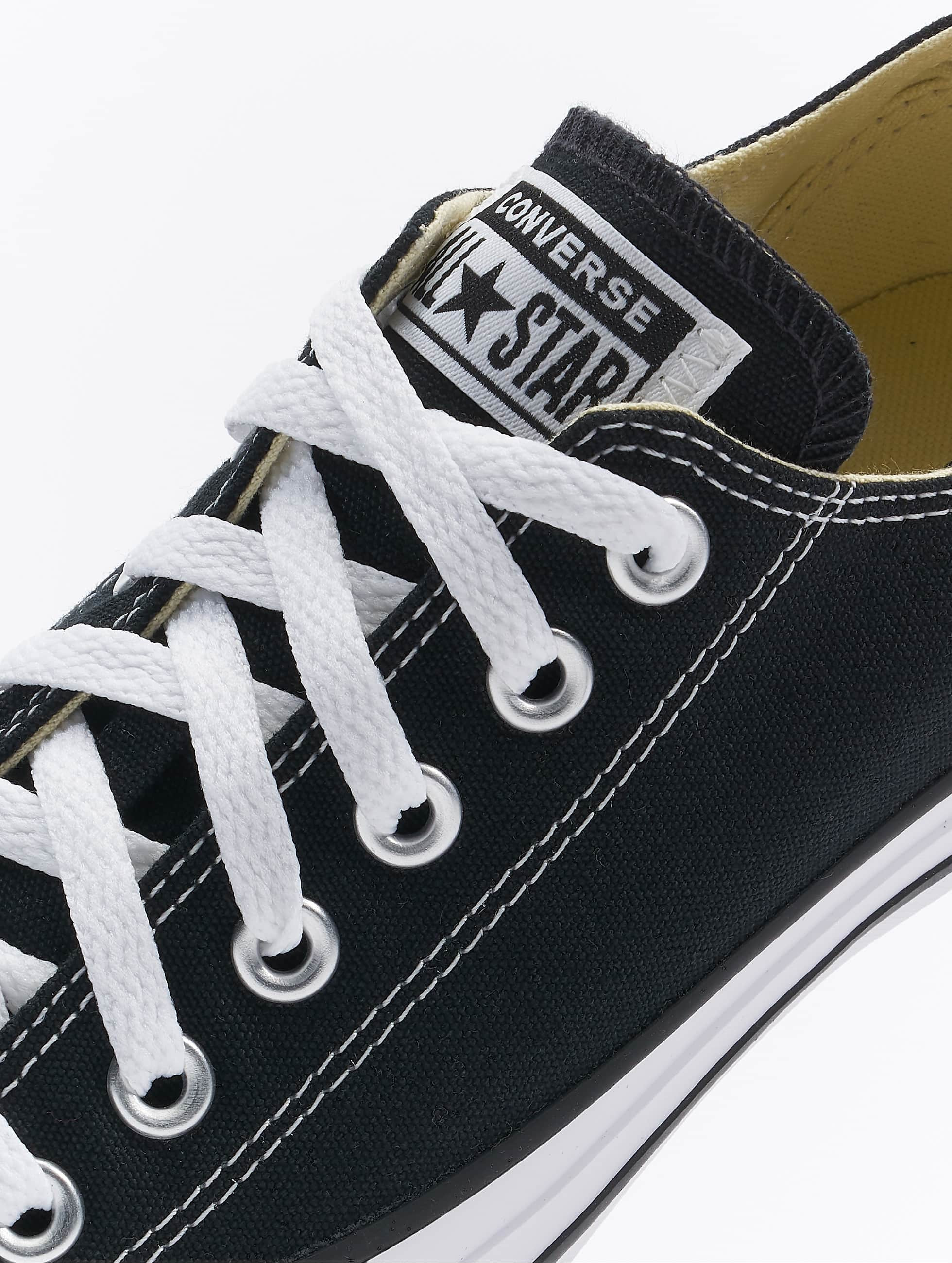 Converse Сникеры All Star Ox Canvas Chucks черный
