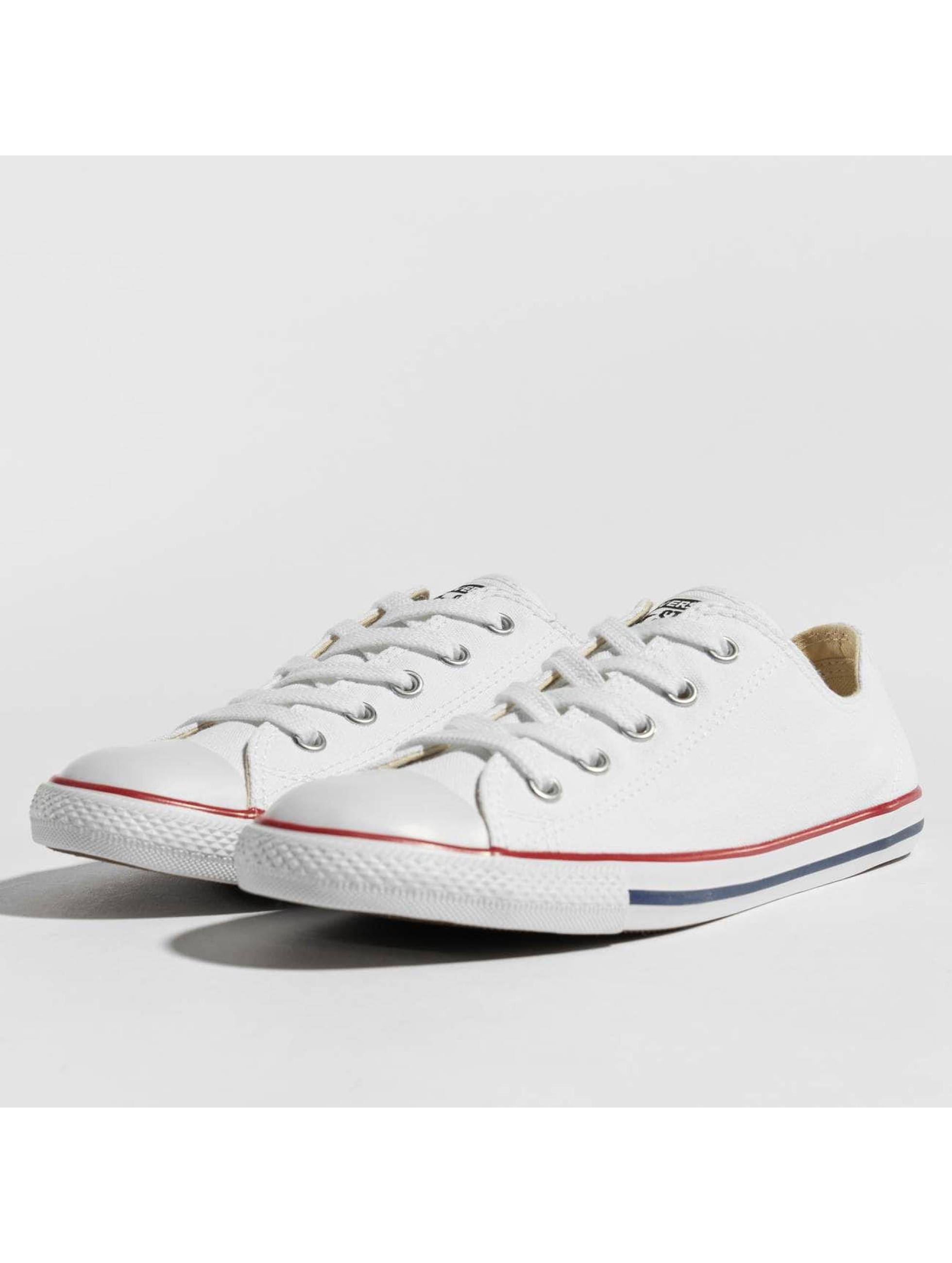 Converse Chaussures / Baskets All Star Dainty Ox Chucks en blanc