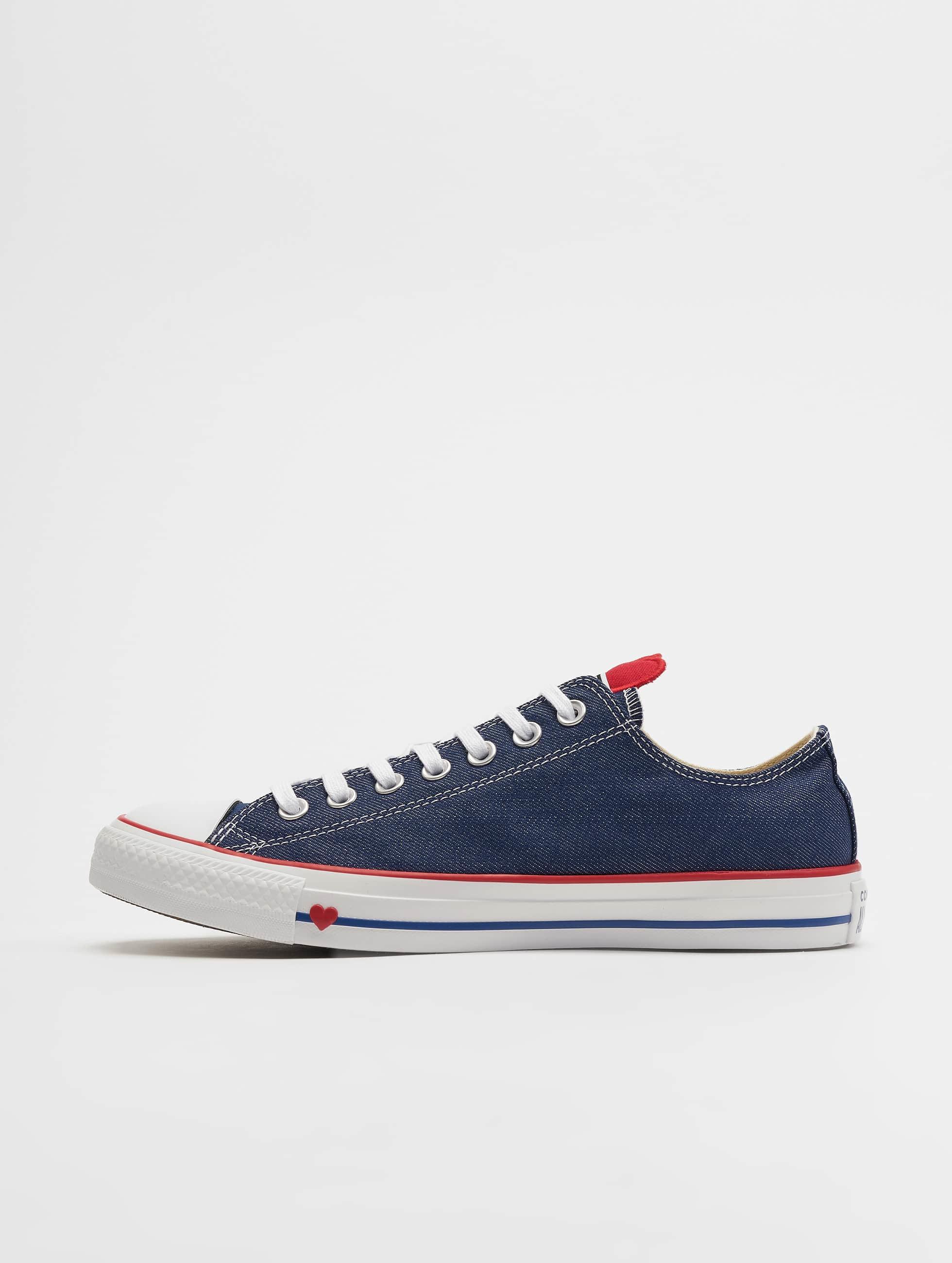 Converse Chuck Taylor All Star Ox Sneakers IndigoEnamel RedWhite