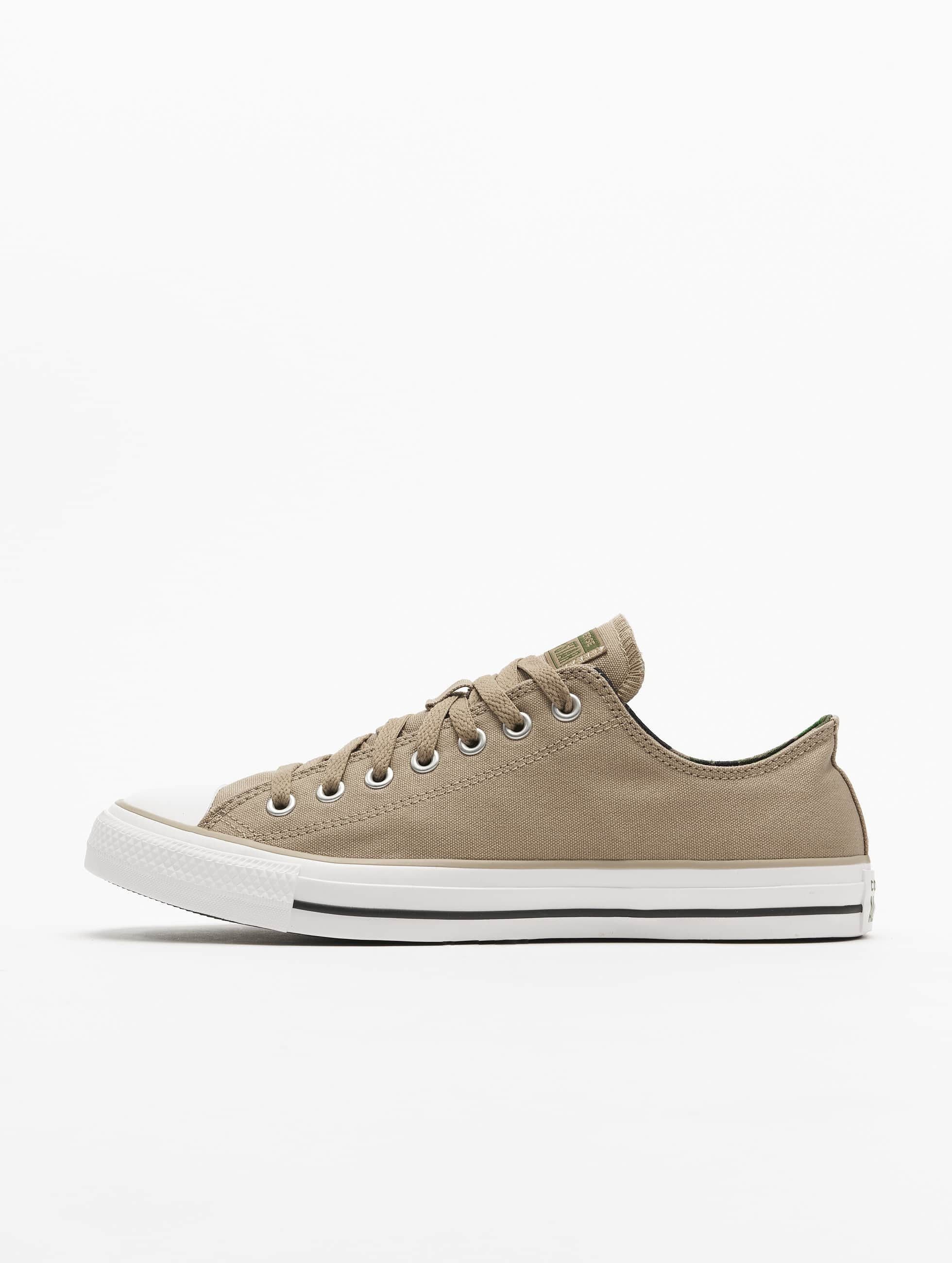 CONVERSE Baskets Ctas Season Ox Canvas Femme Kaki Achat