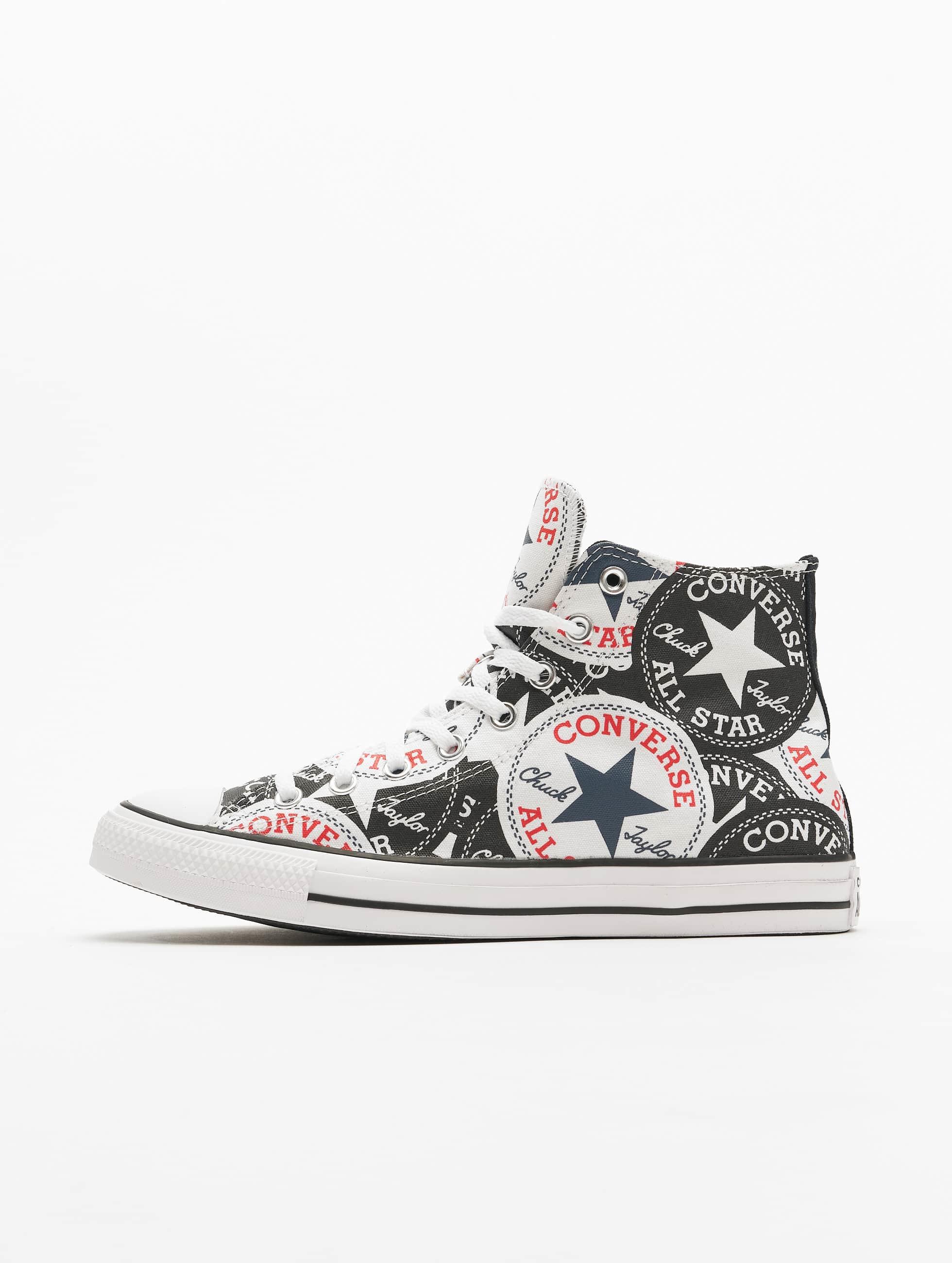 Converse Ctas Hi Sneakers BlackMultiWhite