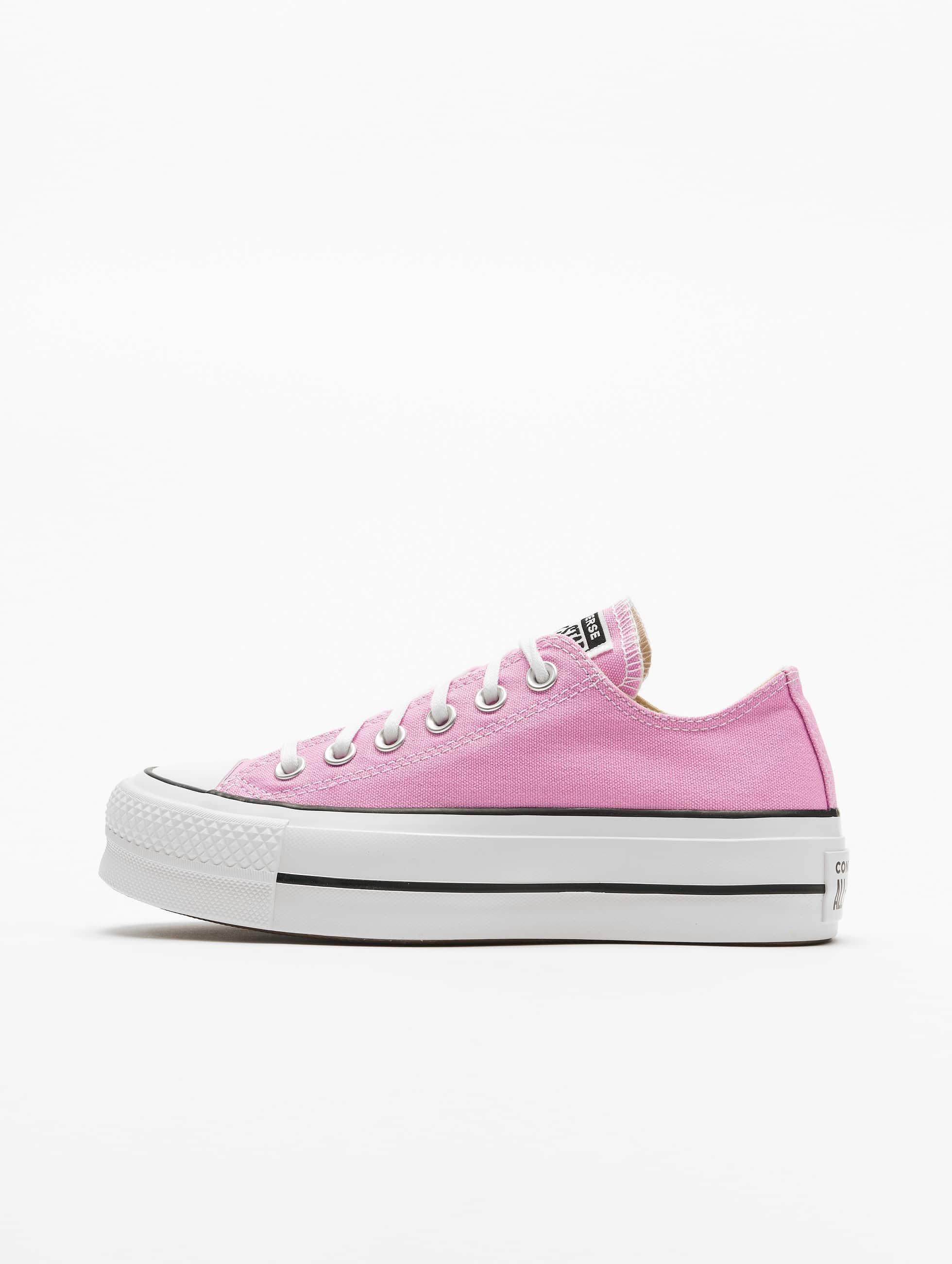 Converse Ctas Lift Ox Sneakers Peony PinkWhiteBlack