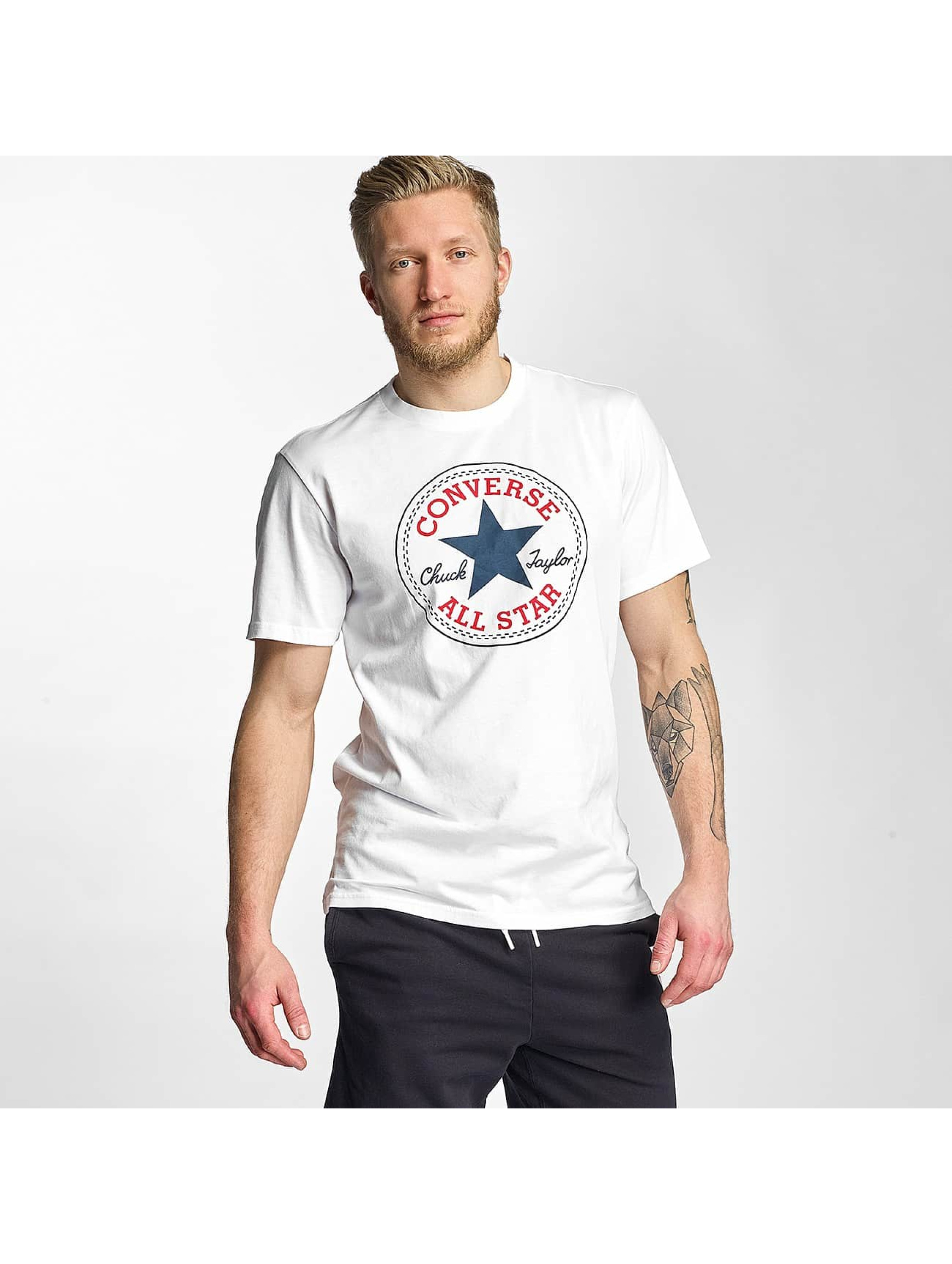 Converse Haut / T-Shirt Core Chuck en blanc