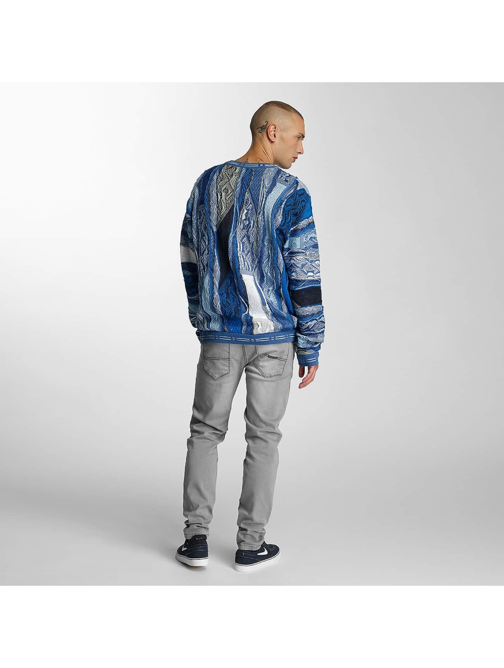 Coogi Пуловер Patchwork синий