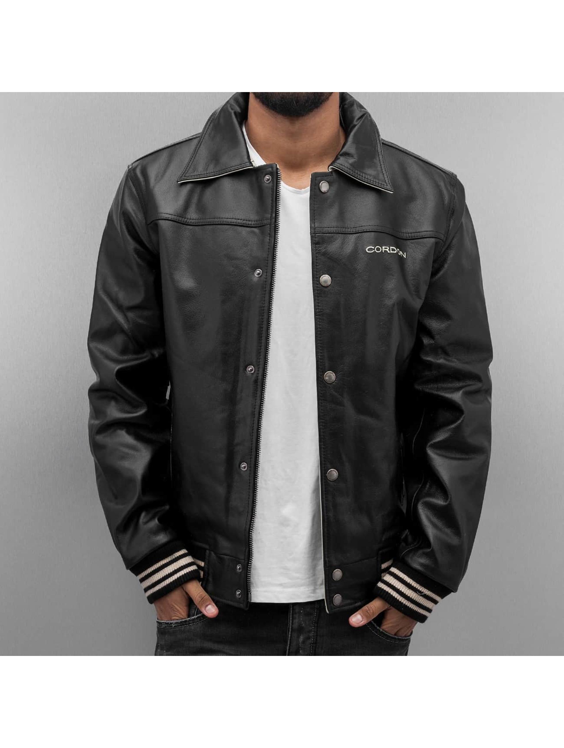 Cordon Кожаная куртка Havard черный