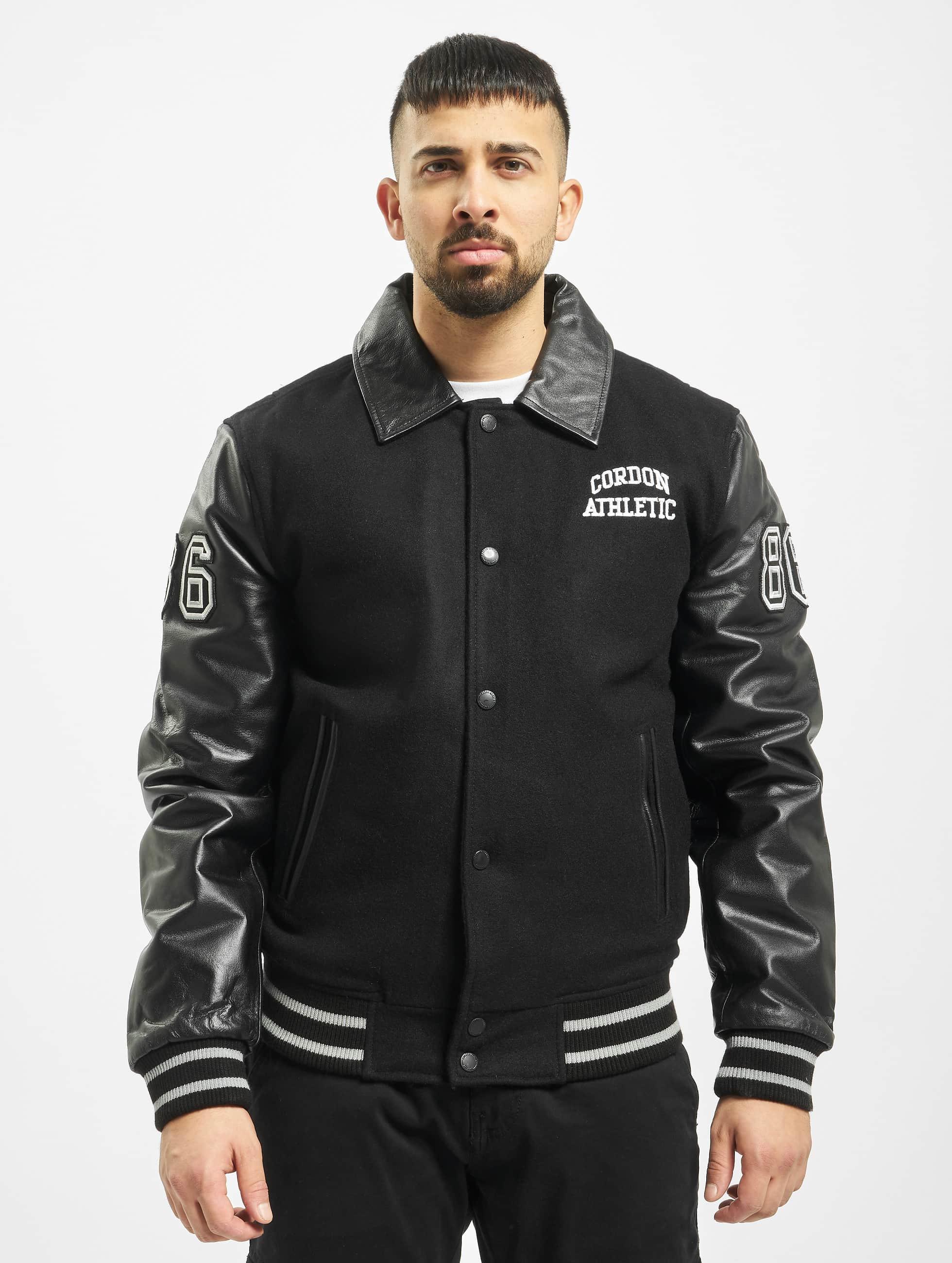 Cordon Кожаная куртка Bronx черный