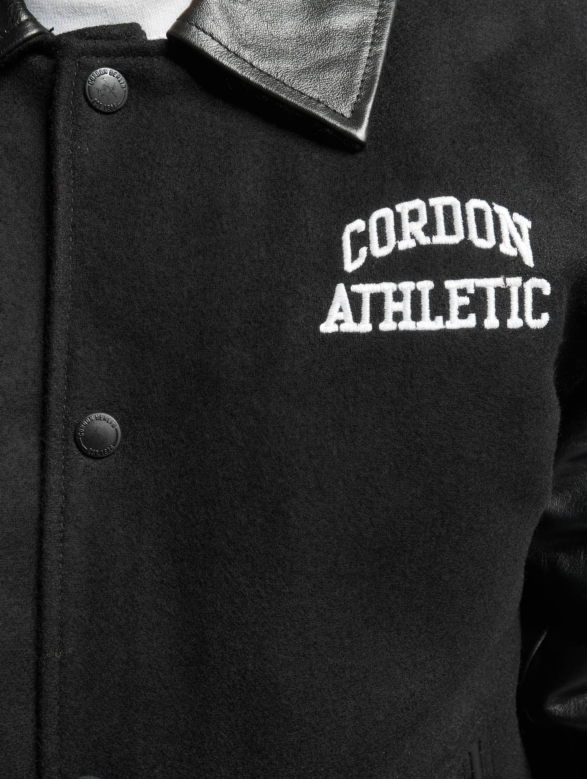 Cordon Chaqueta de cuero Bronx negro