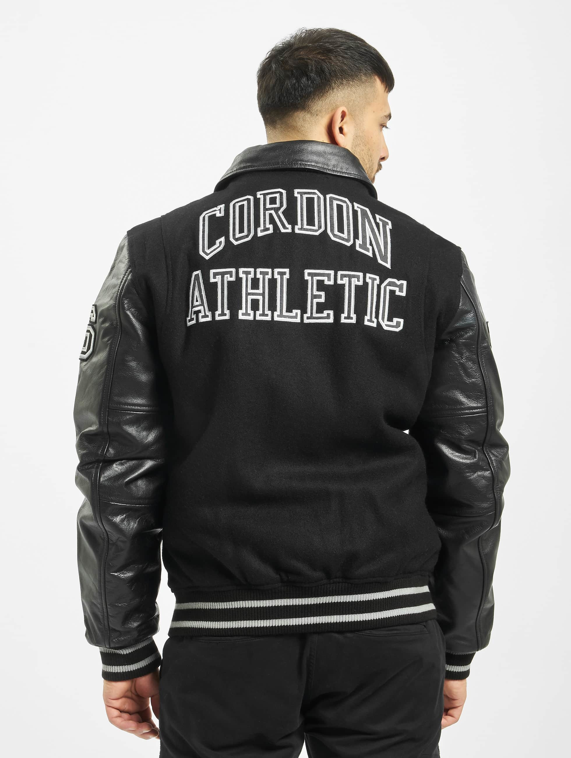 Cordon Læderjakker Bronx sort