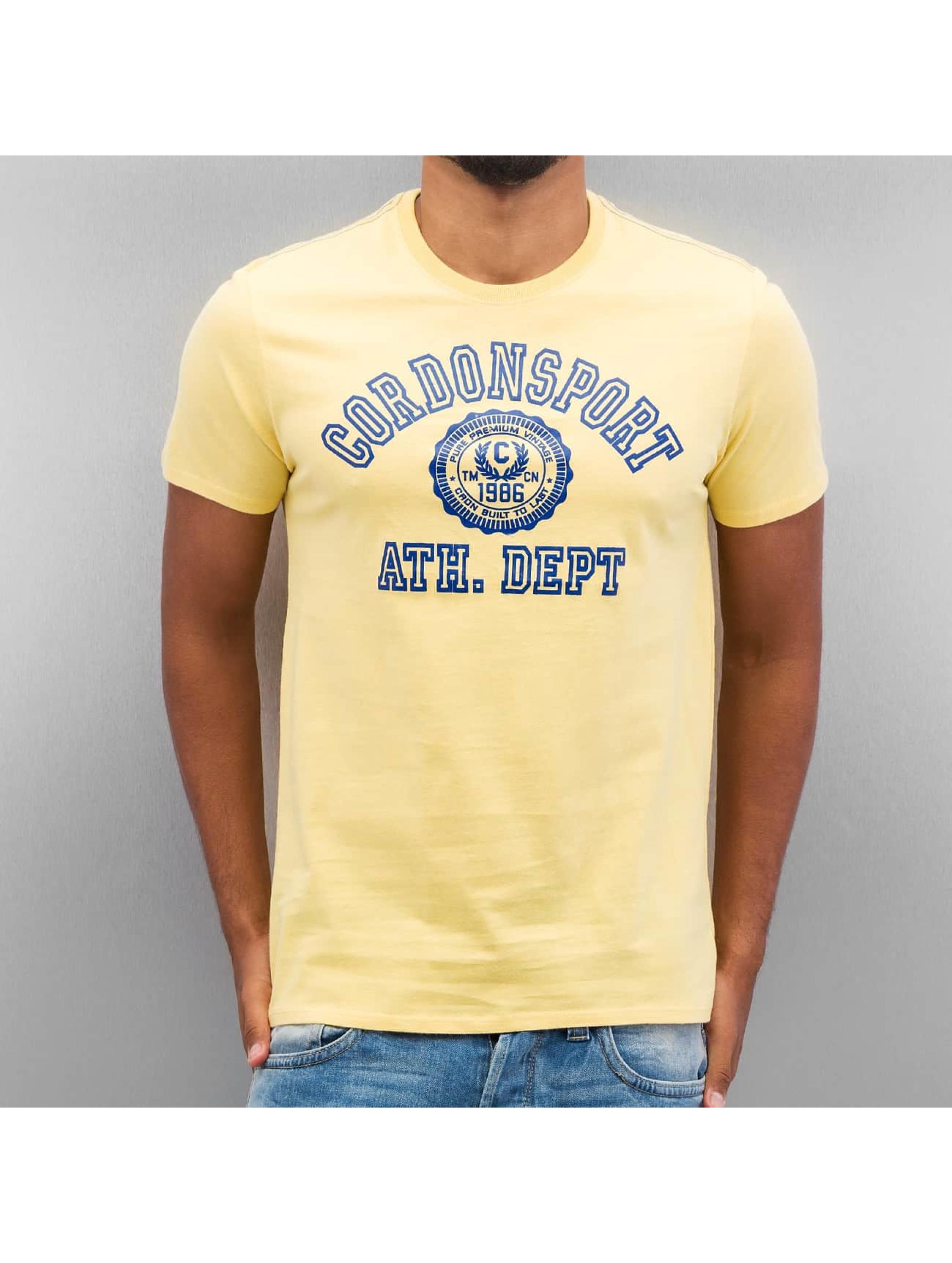 Cordon t-shirt Ole geel
