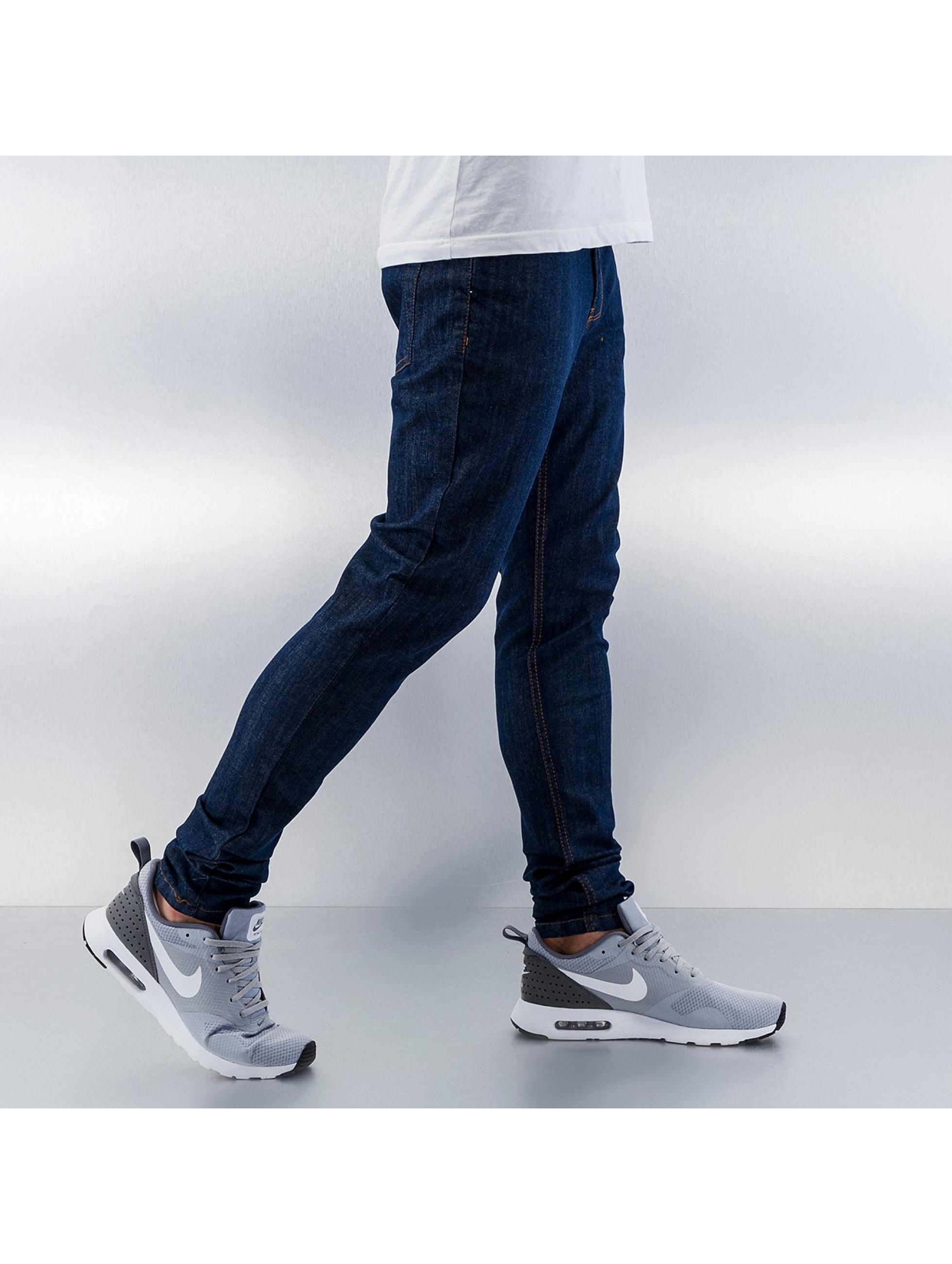 Criminal Damage Облегающие джинсы Super индиго