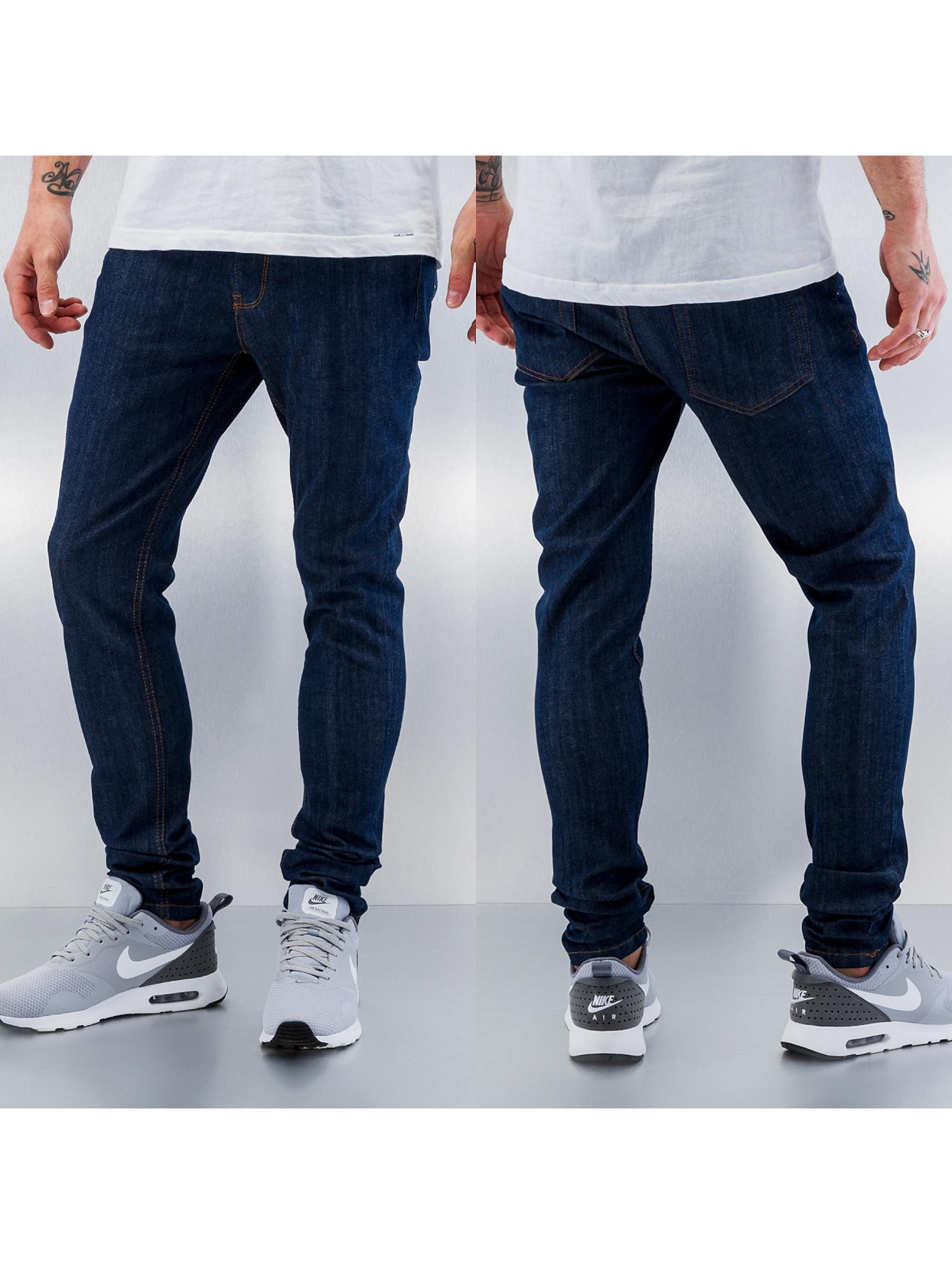 Criminal Damage Skinny Jeans Super indigo