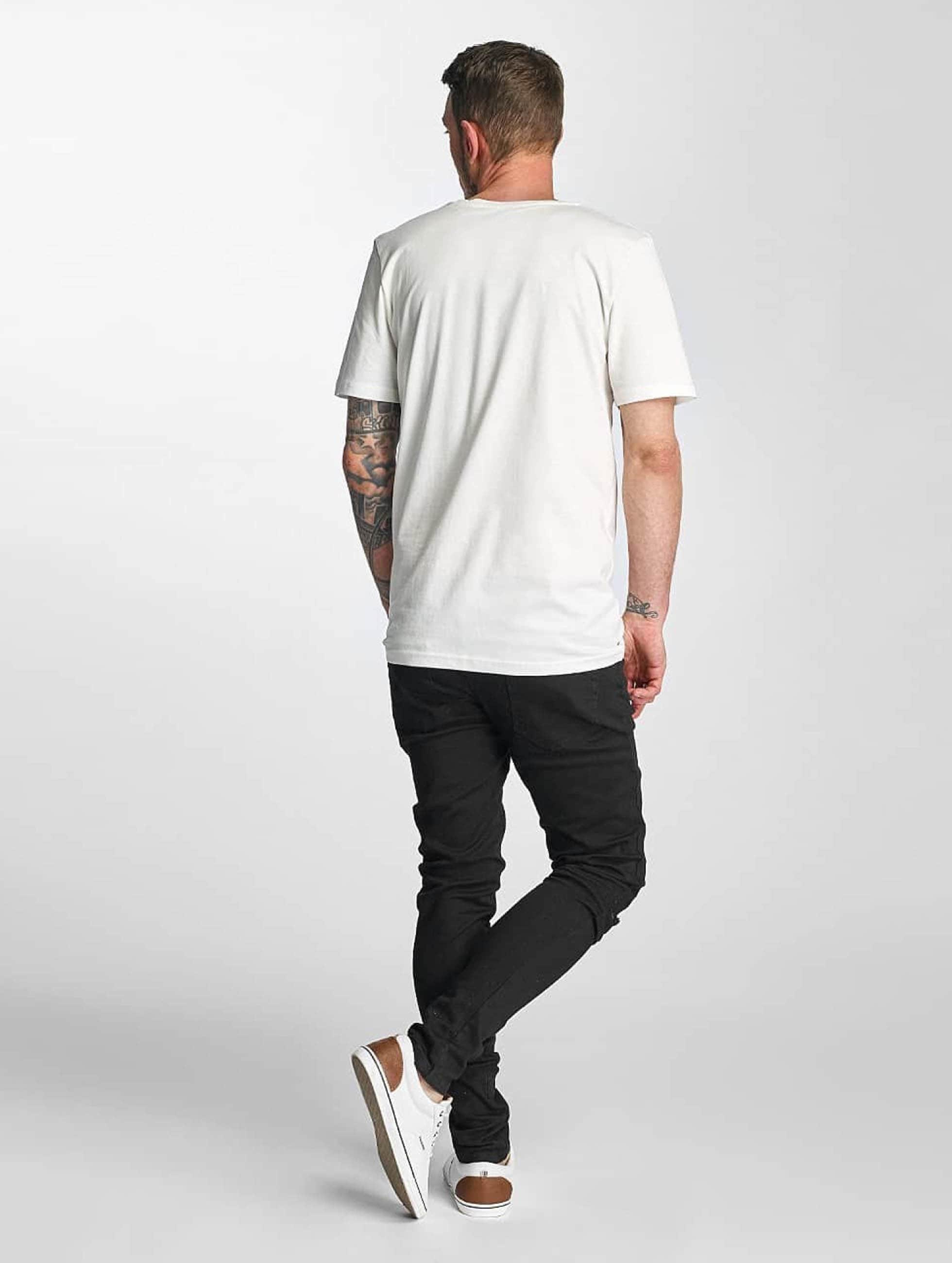 Criminal Damage Skinny Jeans Ripper schwarz