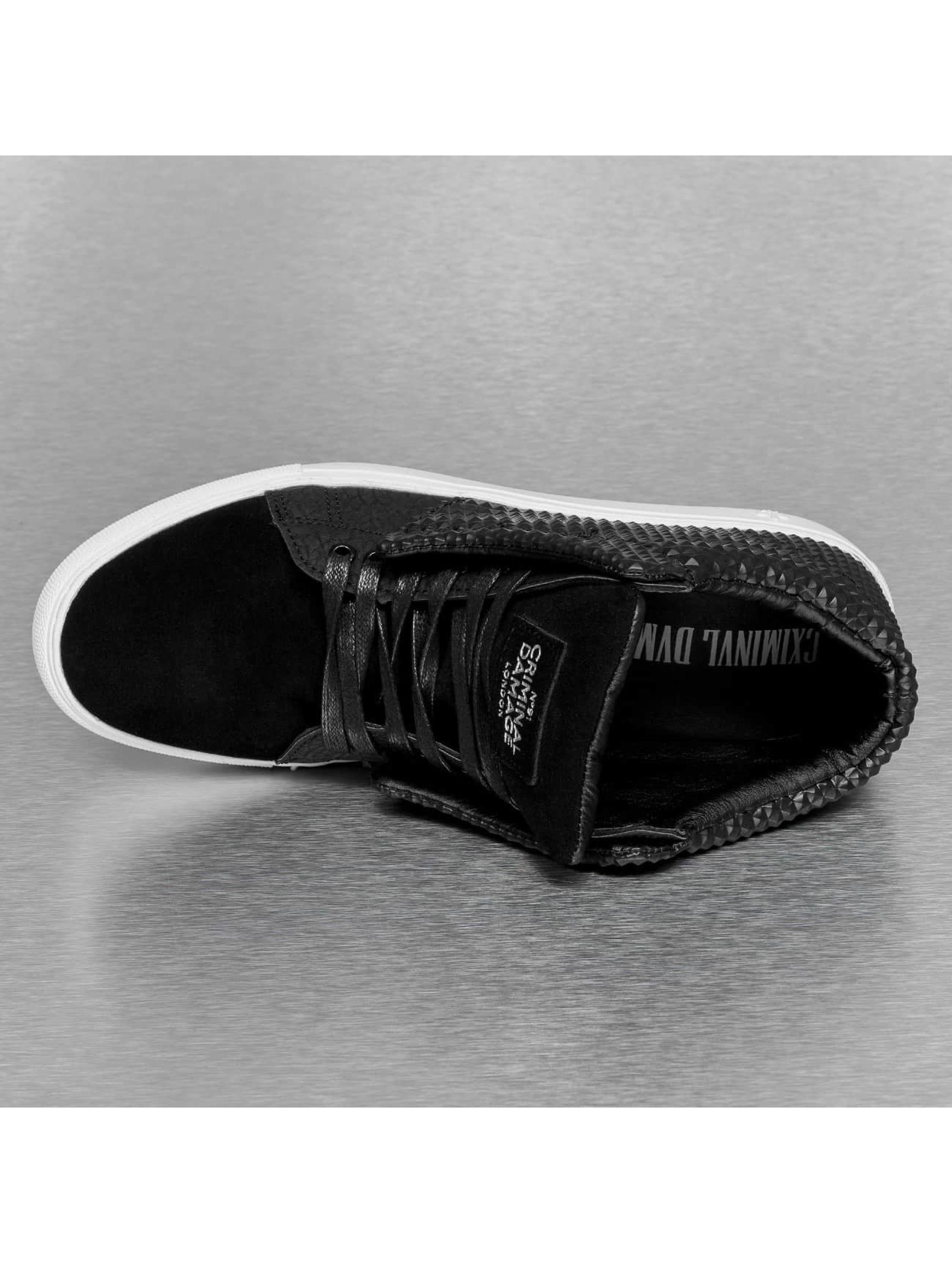 Criminal Damage Sneaker Soho schwarz
