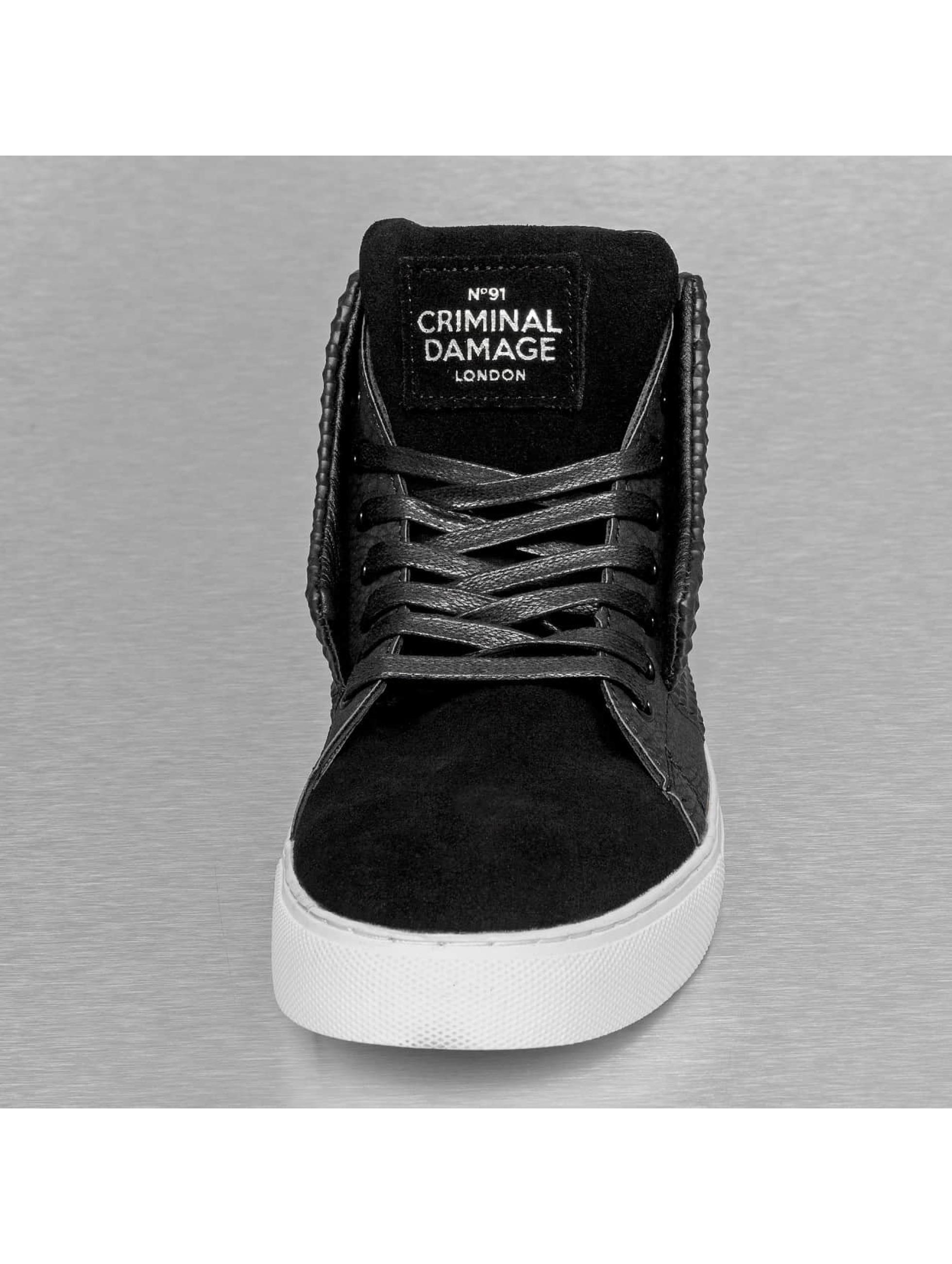 Criminal Damage sneaker Soho zwart