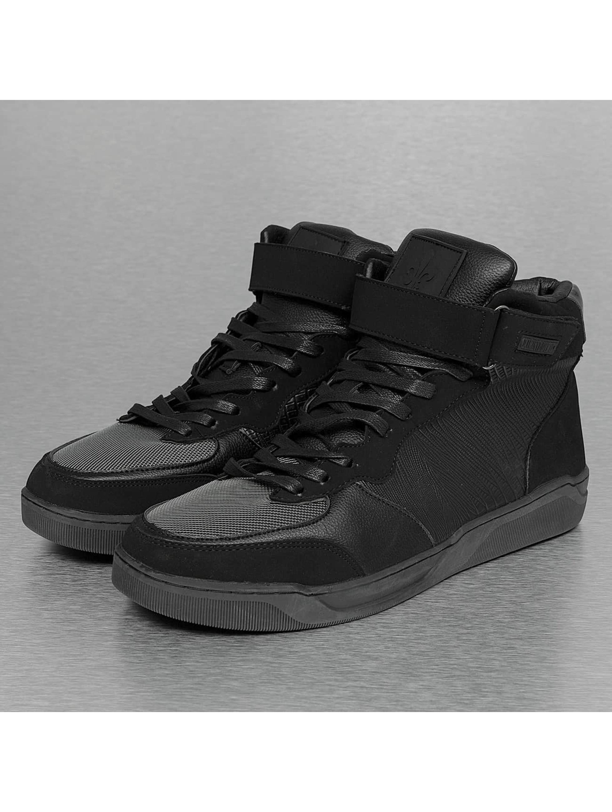 Criminal Damage sneaker Courtside zwart
