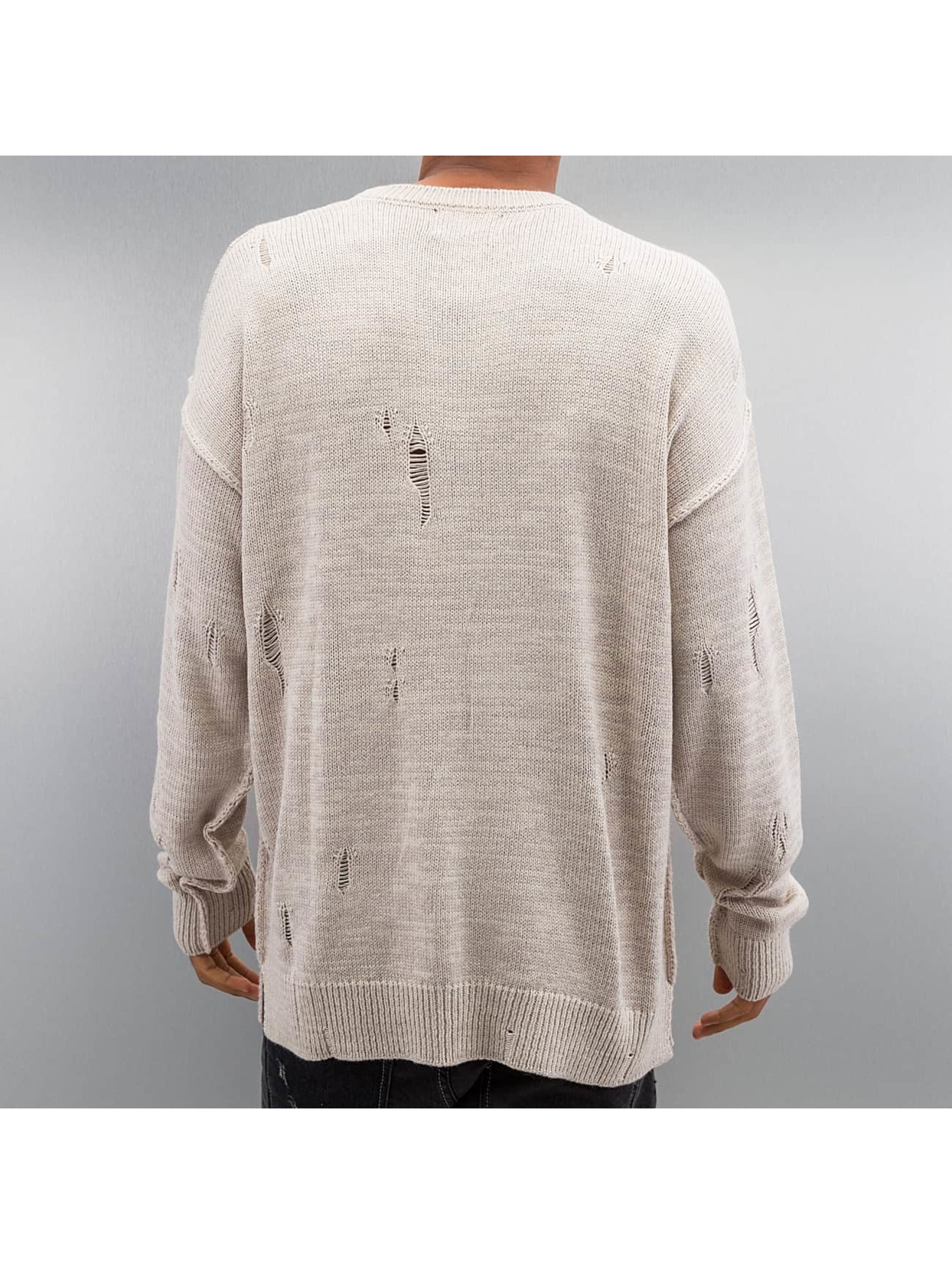 Criminal Damage Sweat & Pull Chapel Knit beige