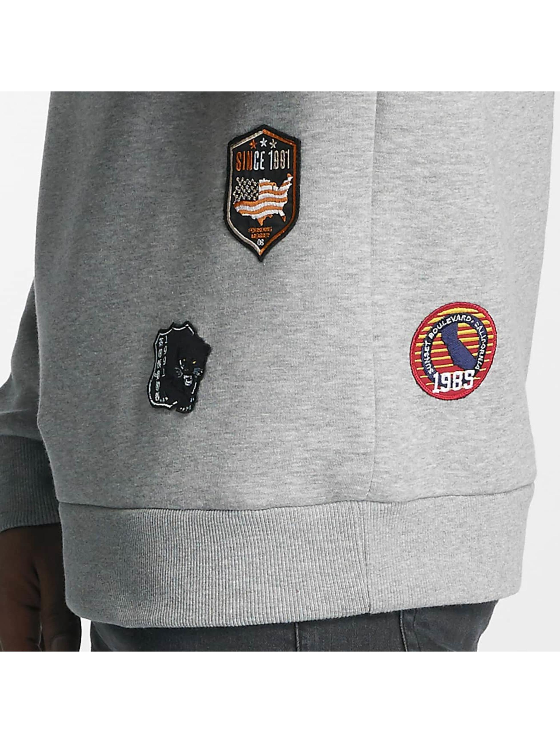 Criminal Damage Sweat & Pull Emblem gris