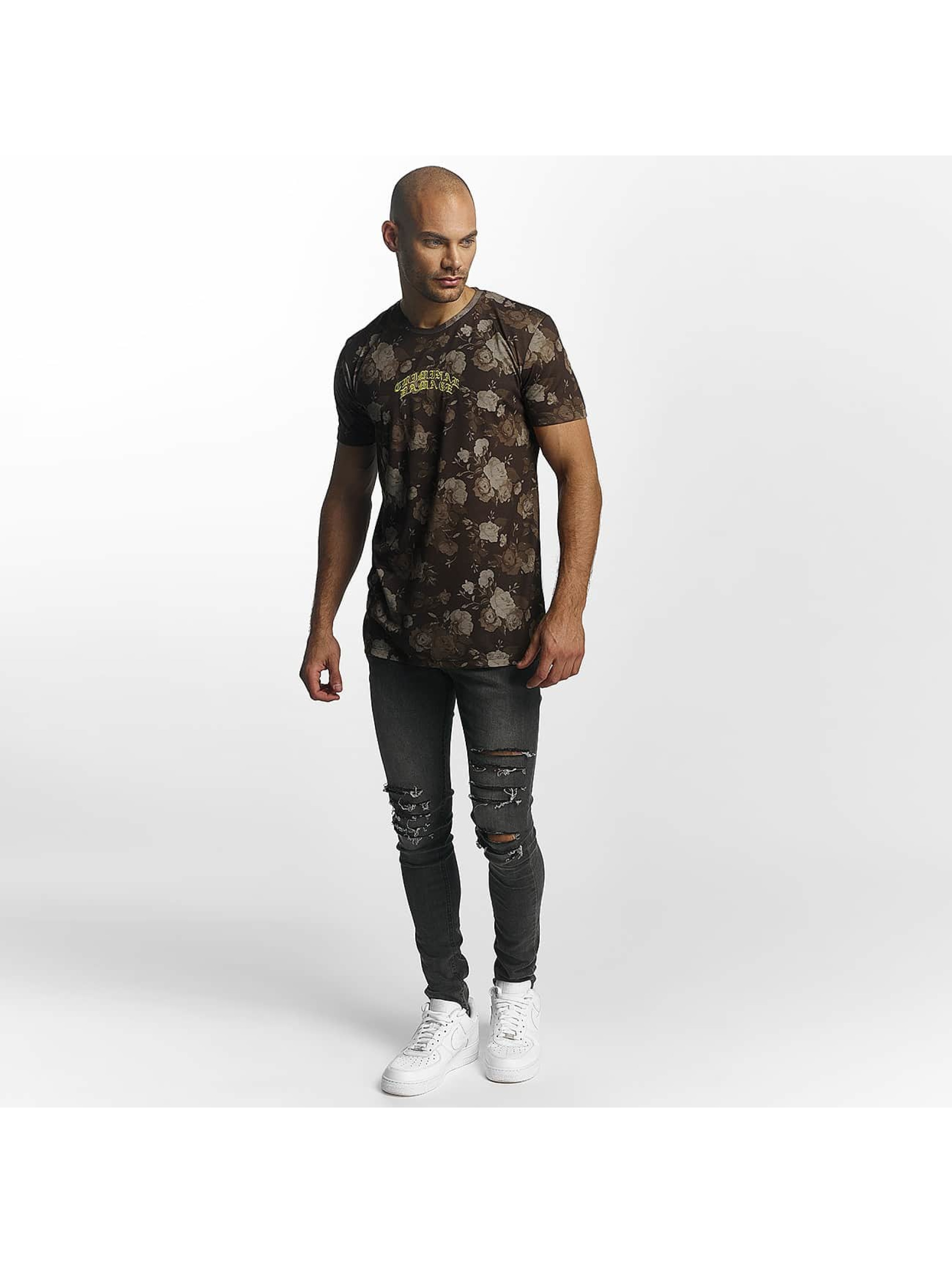 Criminal Damage T-paidat Vine ruskea