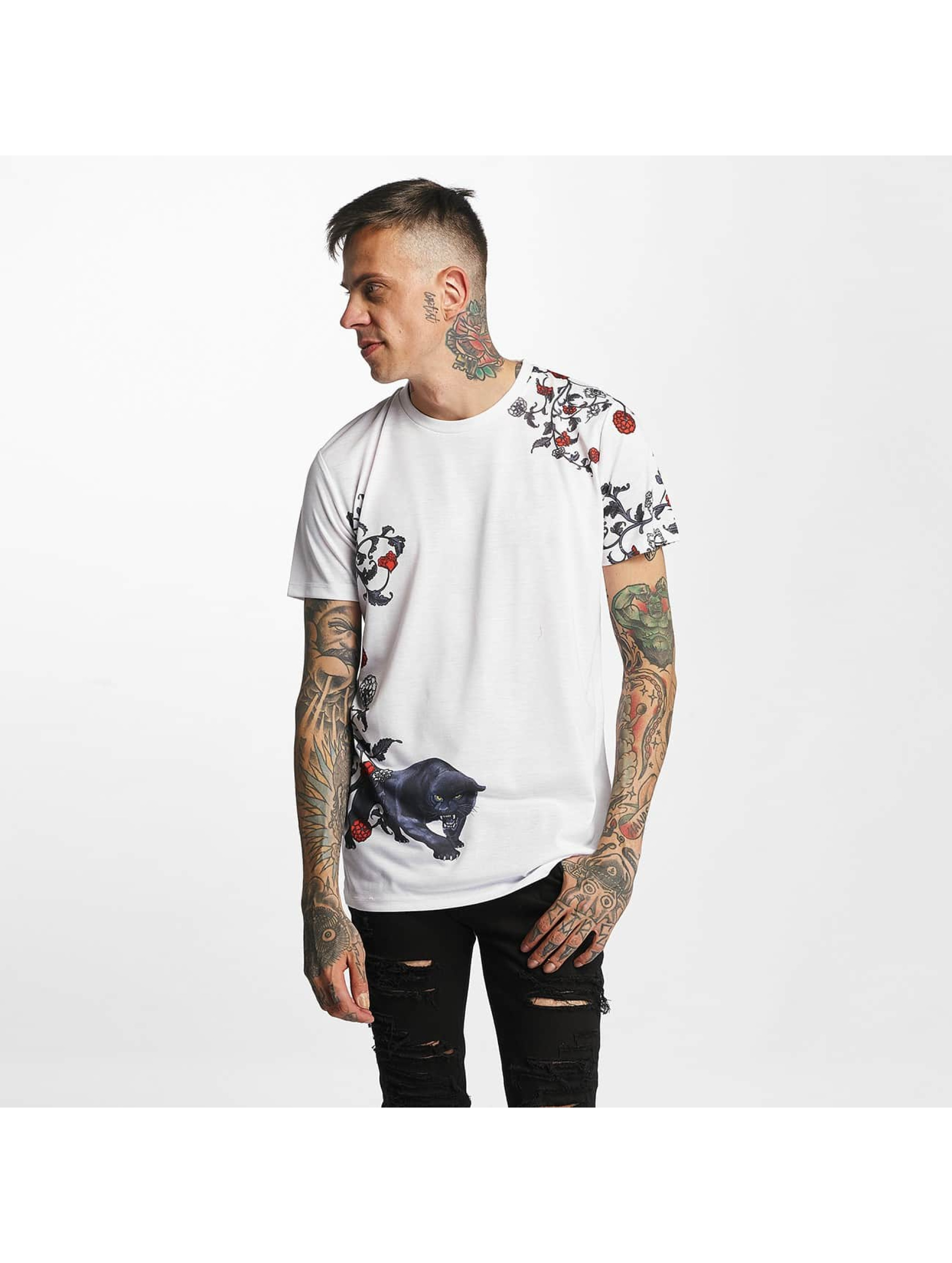 Criminal Damage T-shirt Panther bianco