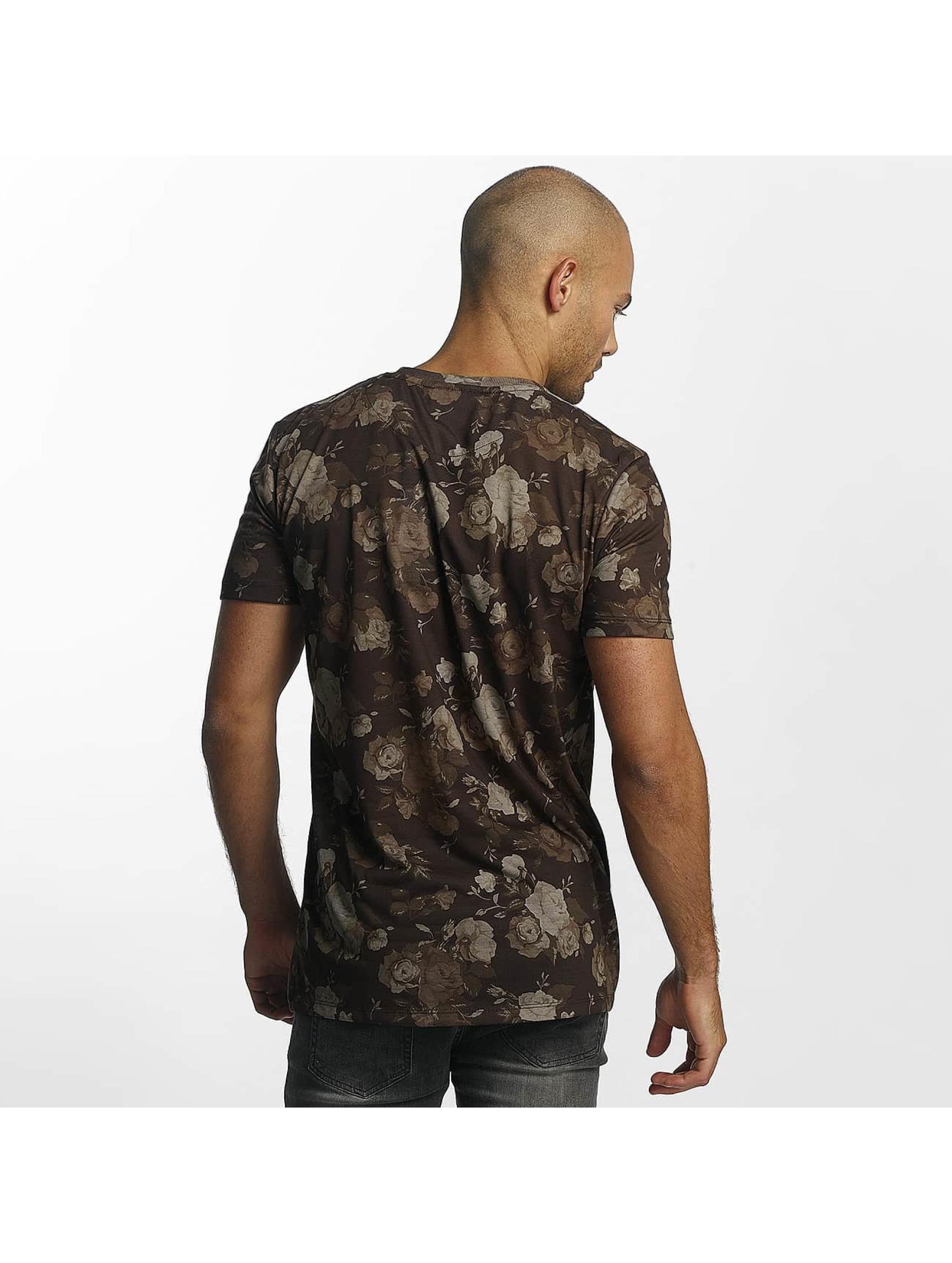 Criminal Damage T-Shirt Vine brown