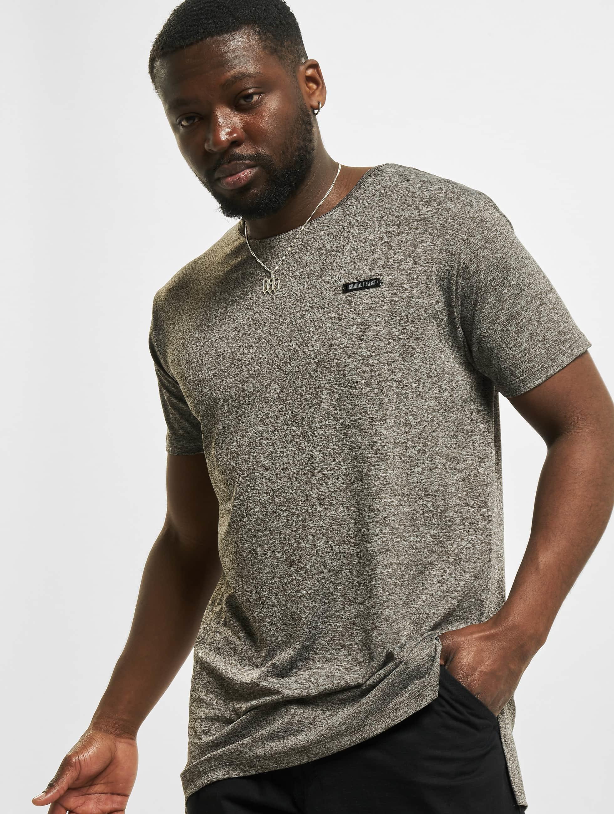 Criminal Damage T-Shirt Bane gris