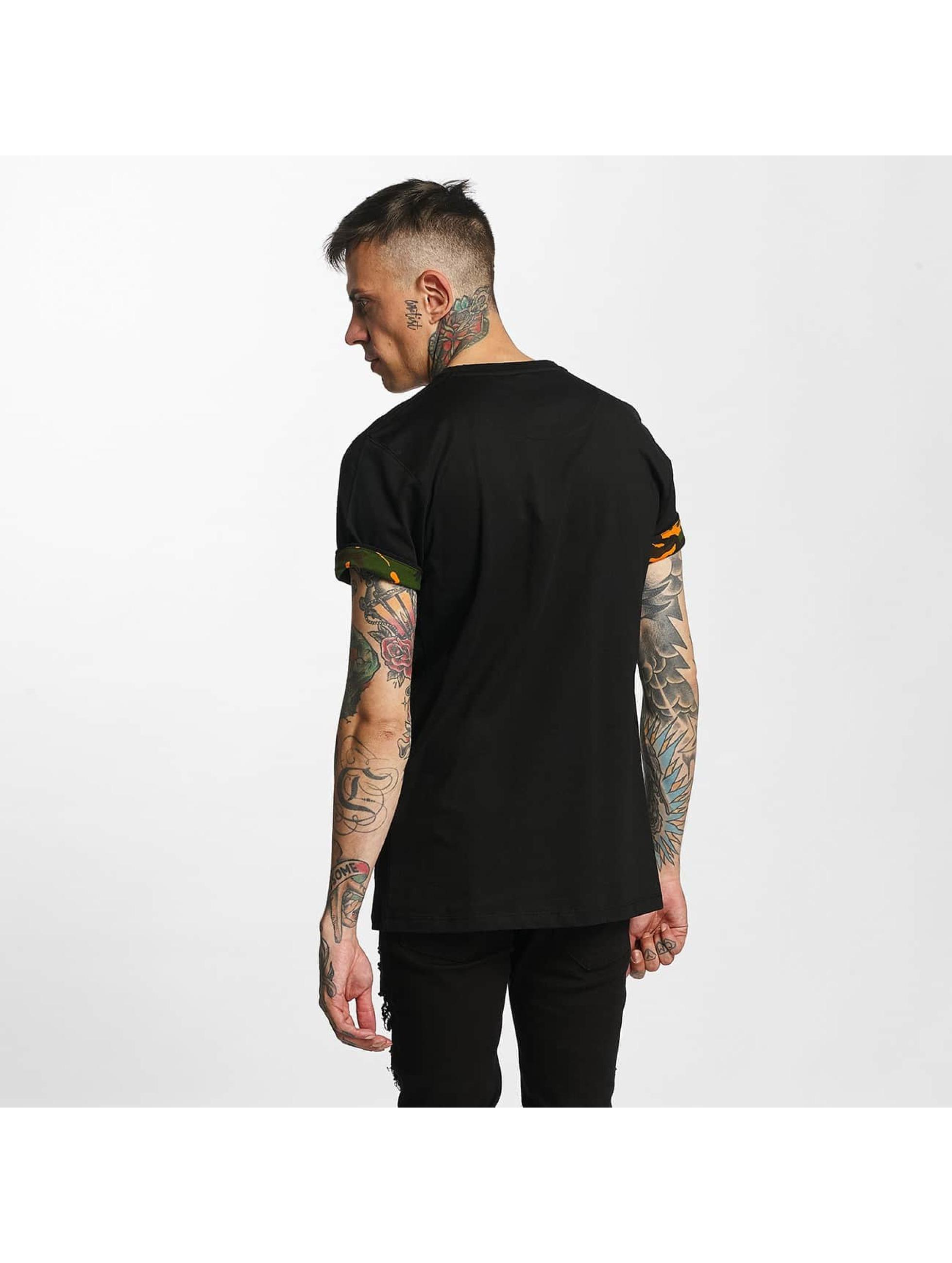 Criminal Damage T-shirt Dazzle nero