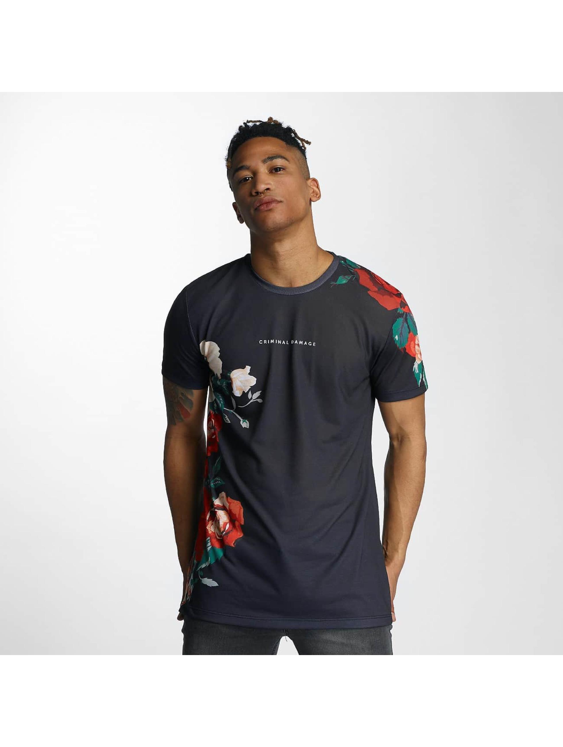 T-Shirt Criminal Damage Luis en noir