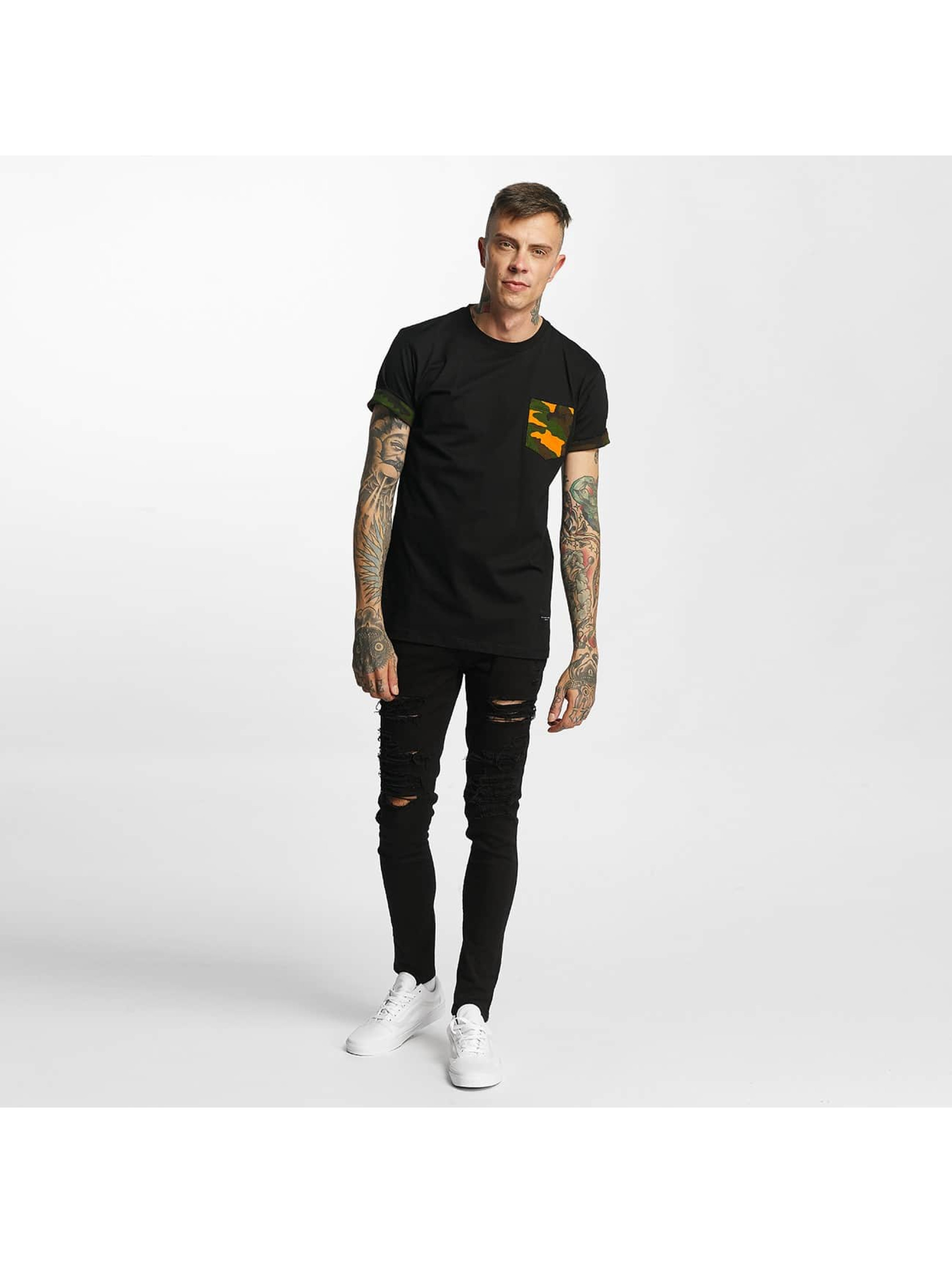 Criminal Damage T-Shirt Dazzle schwarz