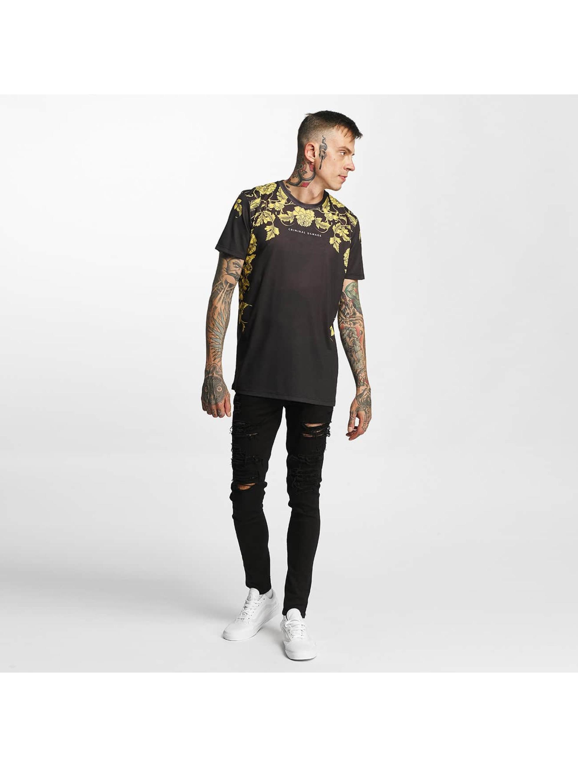 Criminal Damage T-Shirt Giovanni schwarz