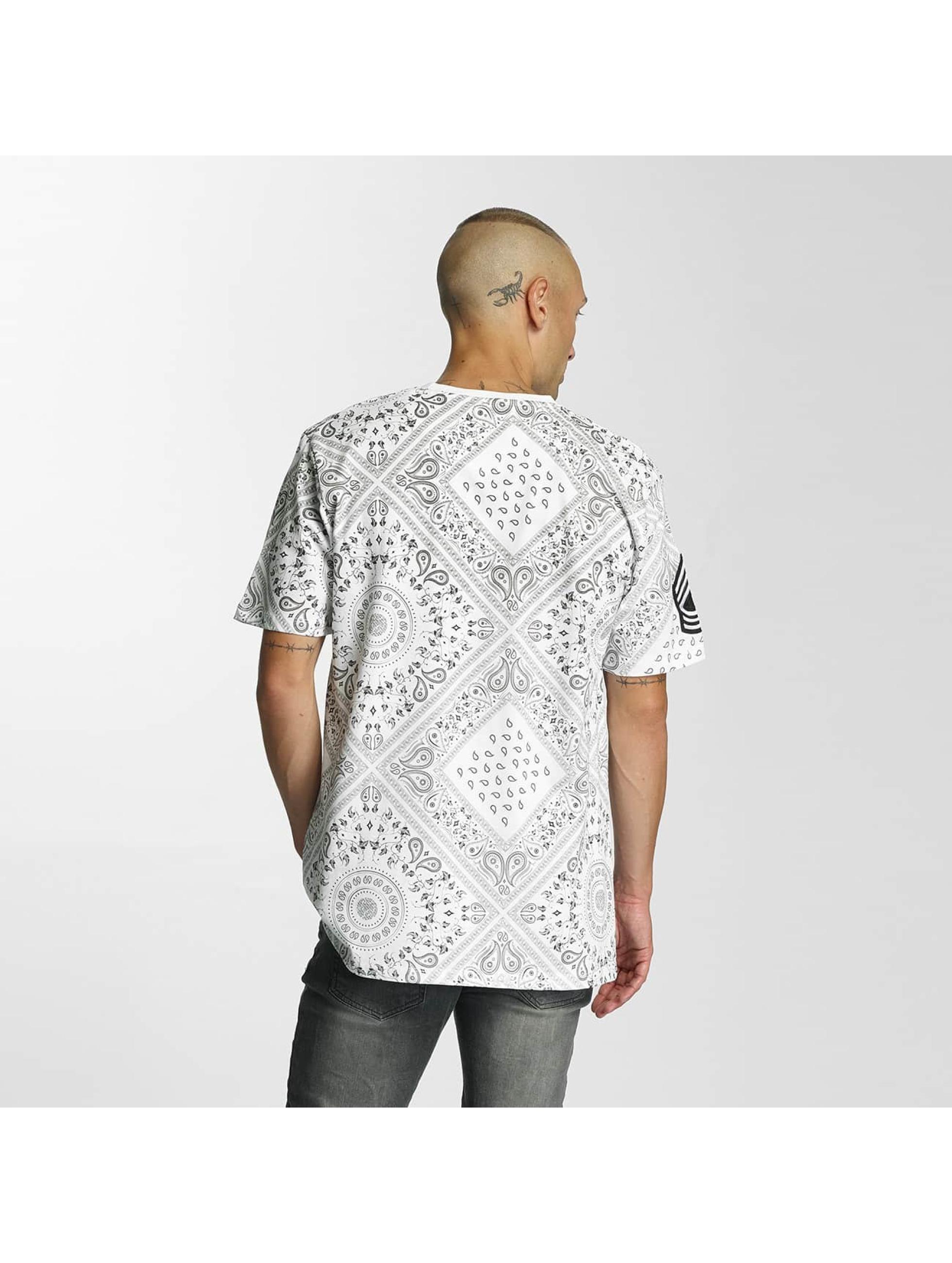 Criminal Damage T-Shirt Side weiß