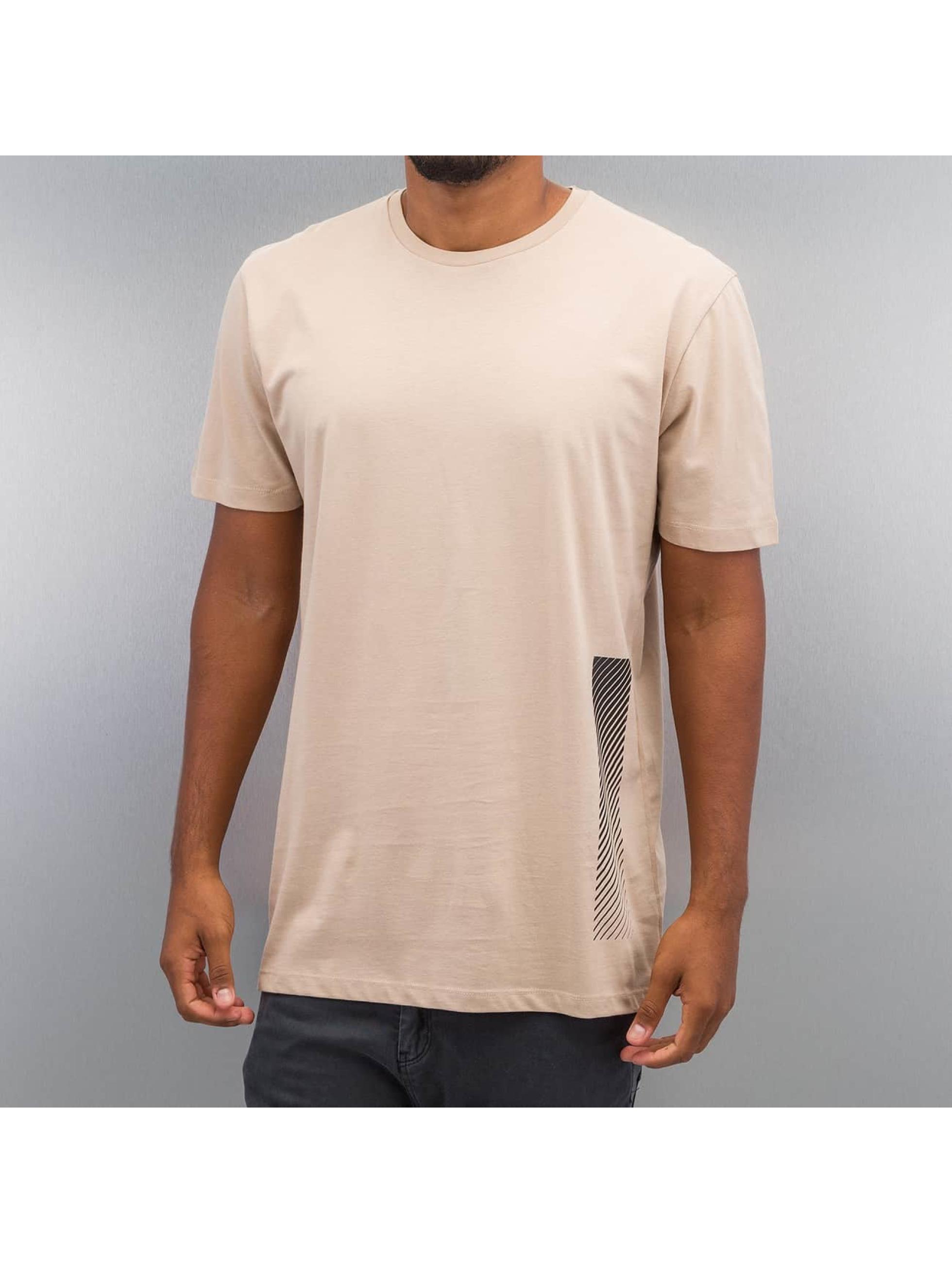 Criminal Damage T-Shirty Decent bezowy