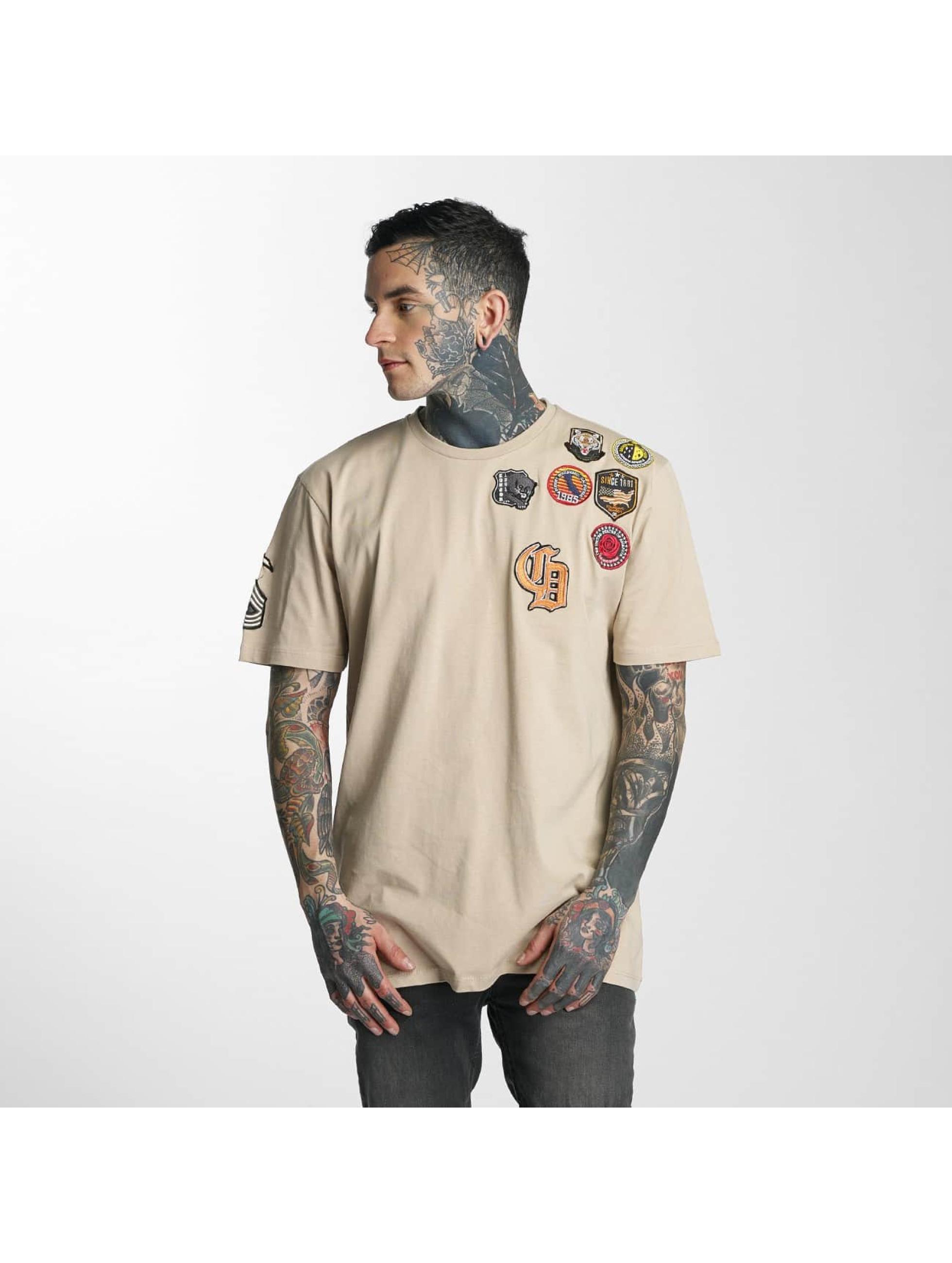Criminal Damage T-Shirty Insignia bezowy