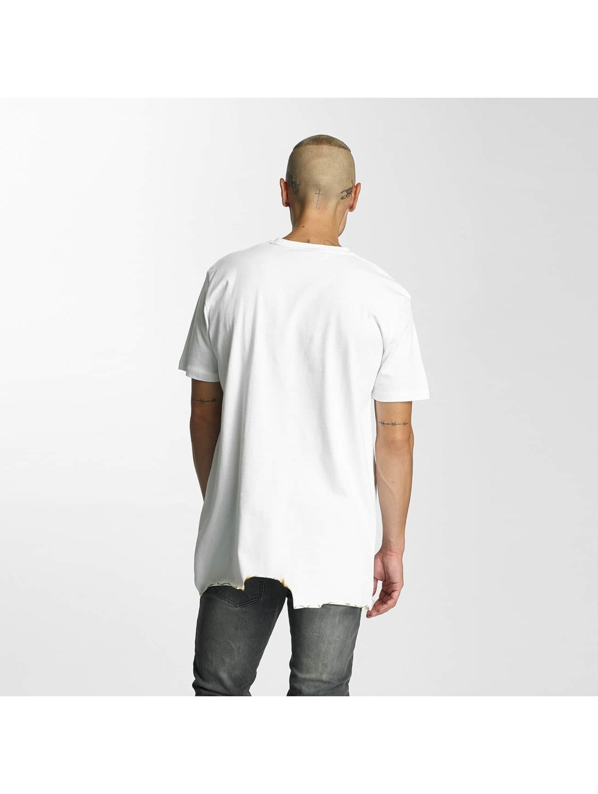 Criminal Damage T-Shirty Burnt bialy