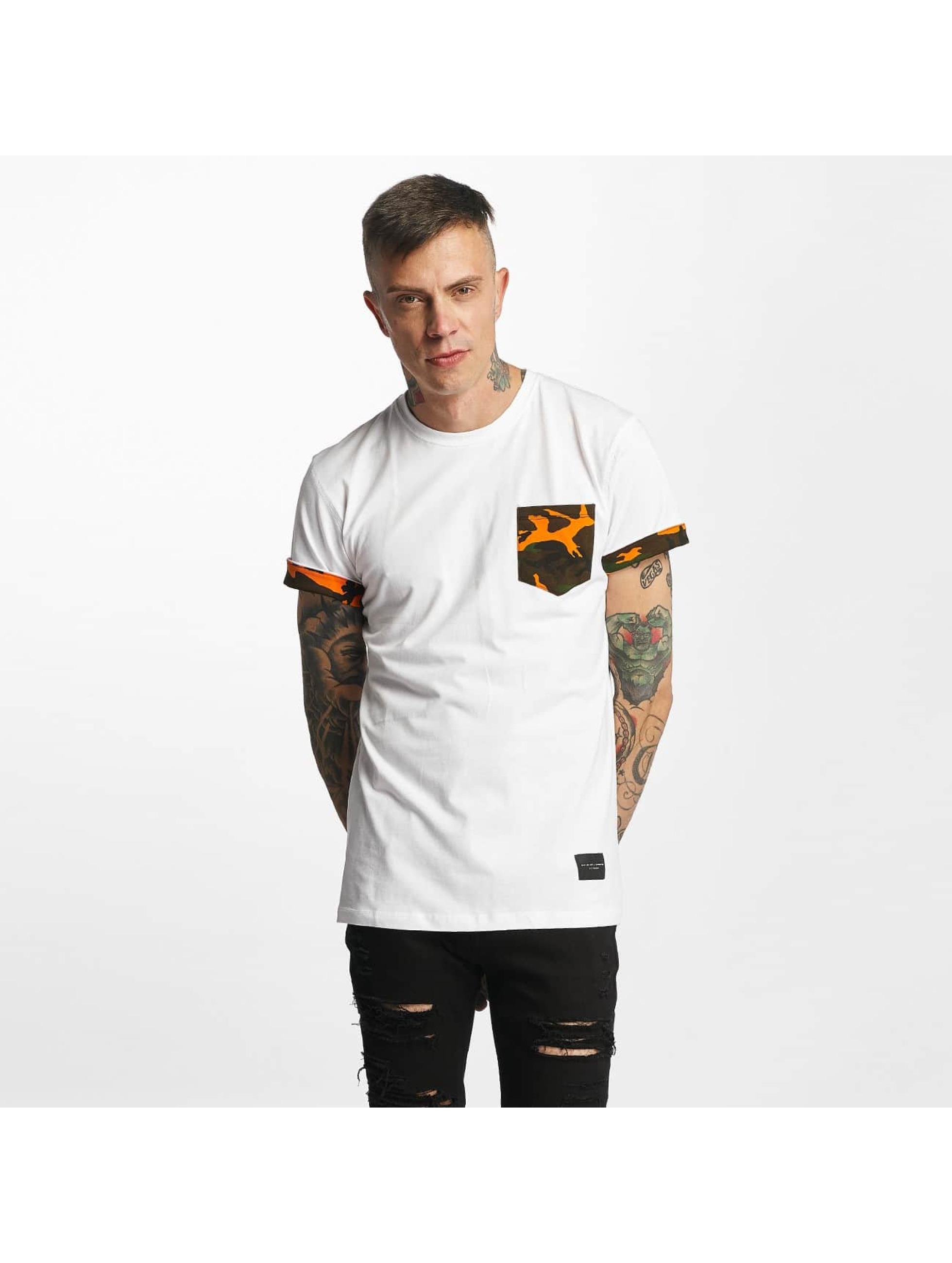Criminal Damage T-Shirty Dazzle bialy