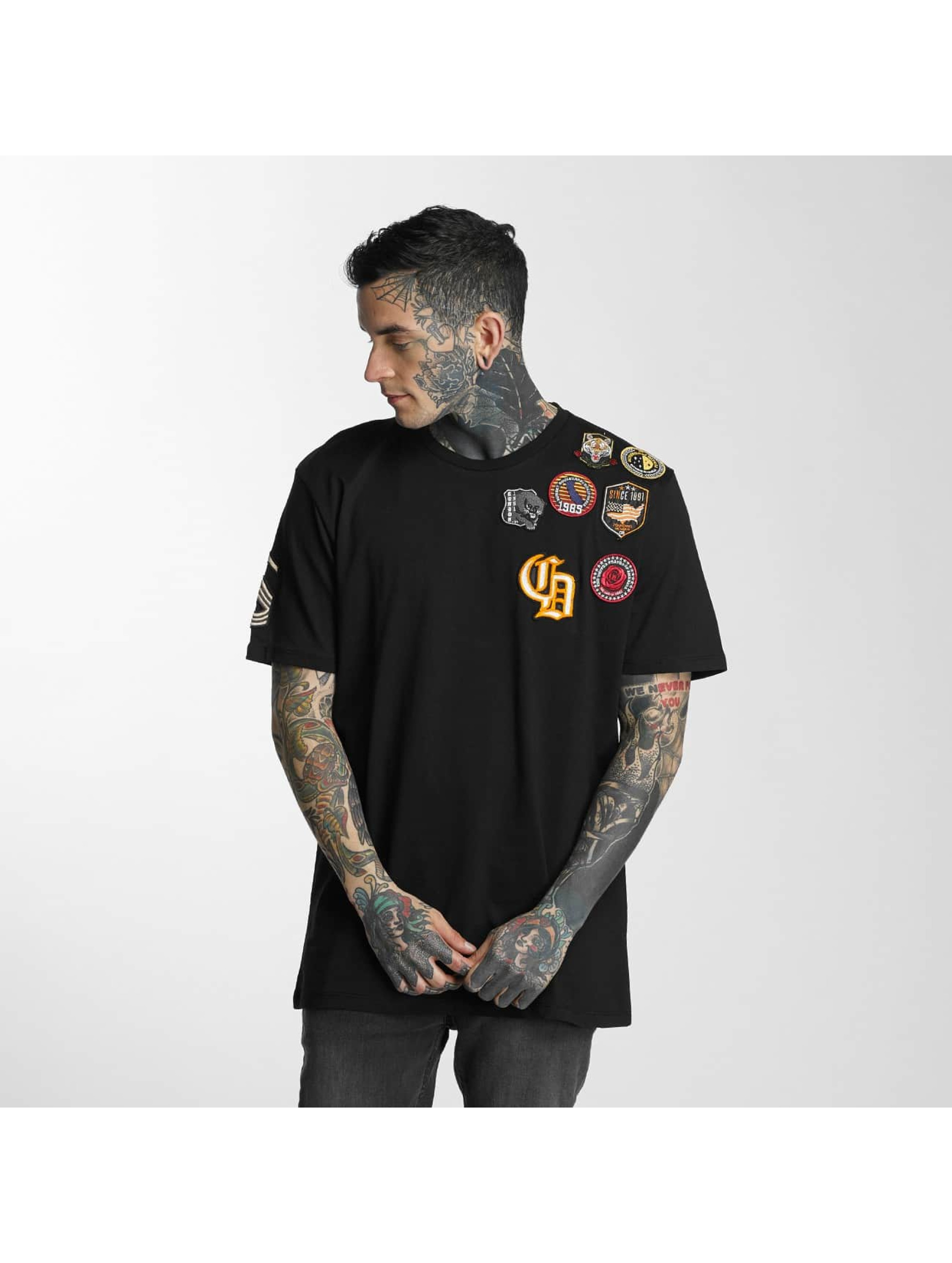 Criminal Damage T-Shirty Insignia czarny