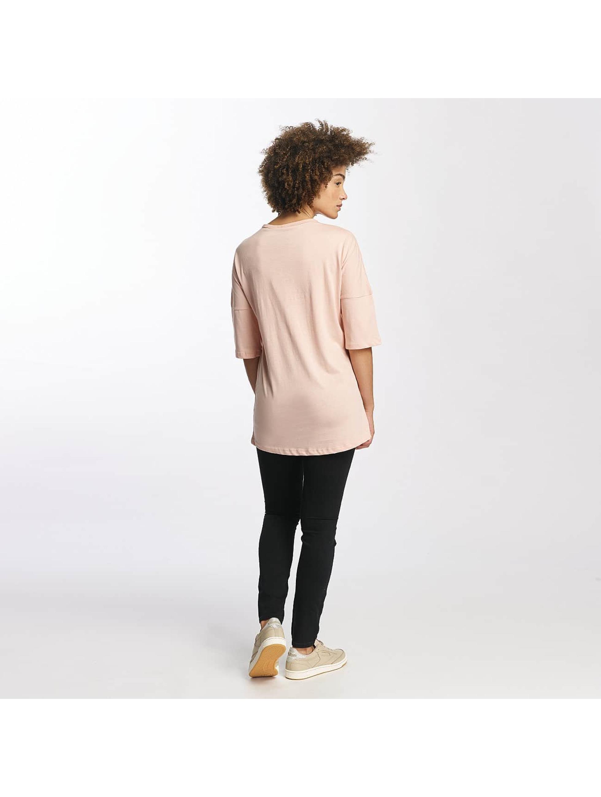 Criminal Damage T-Shirty Prinston pink