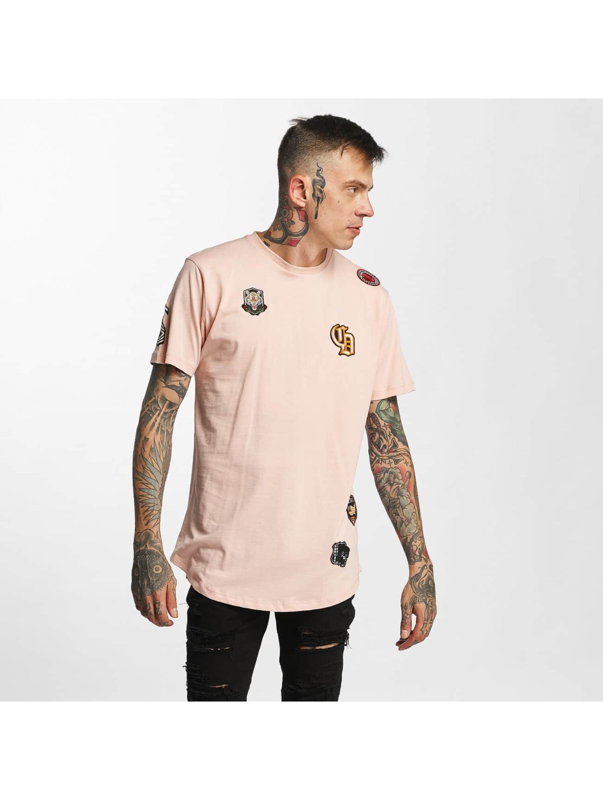 Criminal Damage T-Shirty Emblem rózowy