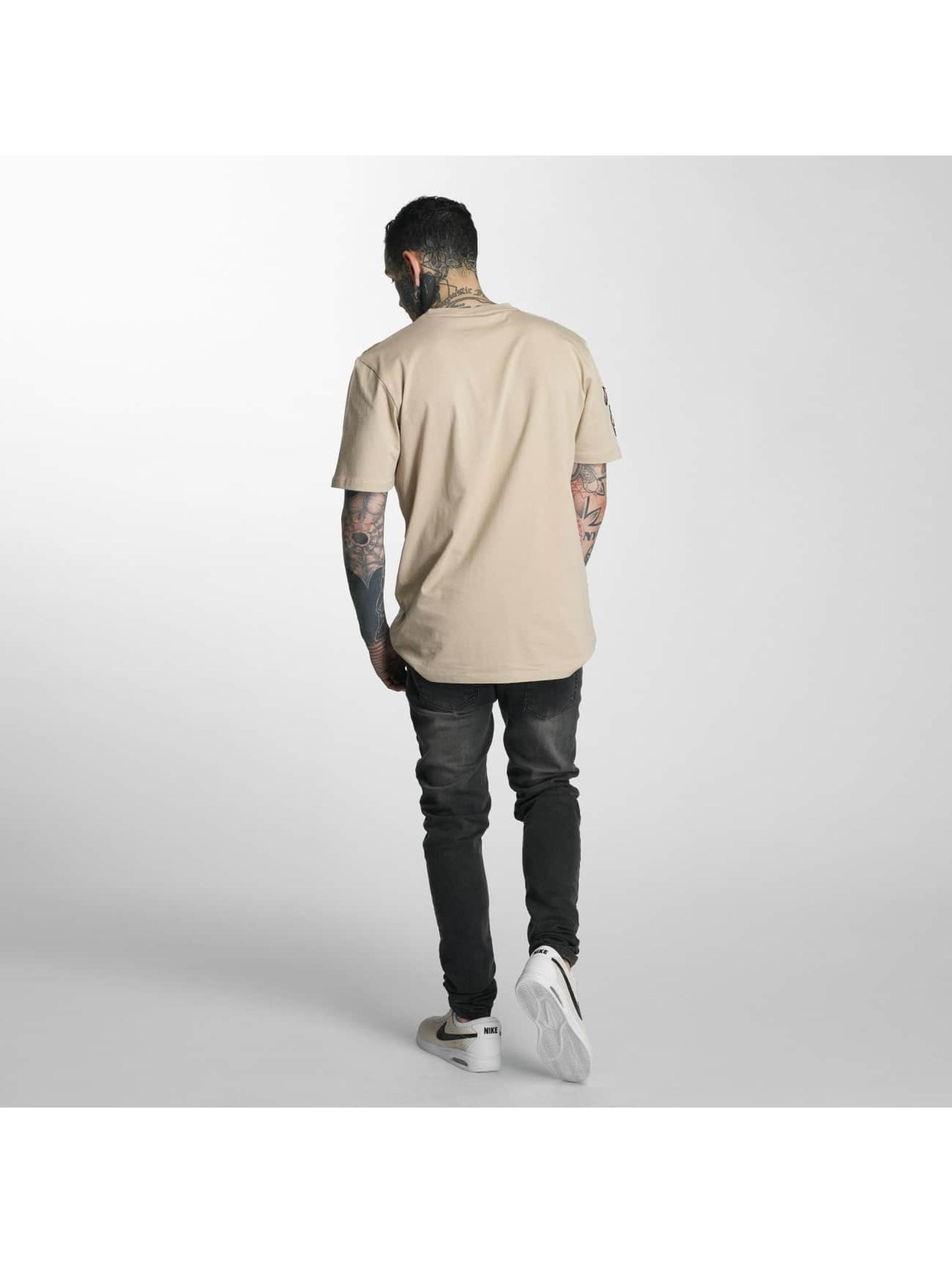 Criminal Damage T-skjorter Insignia beige